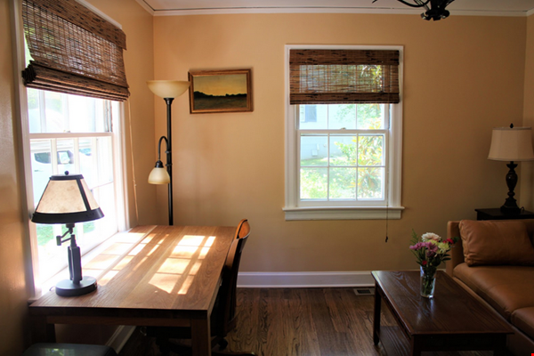 Secluded cottage  1 mile from UNC campus  dog  friendly Home Rental in Chapel Hill 1 - thumbnail