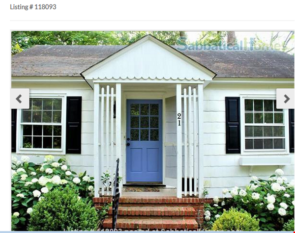 Secluded cottage  1 mile from UNC campus  dog  friendly Home Rental in Chapel Hill 0 - thumbnail