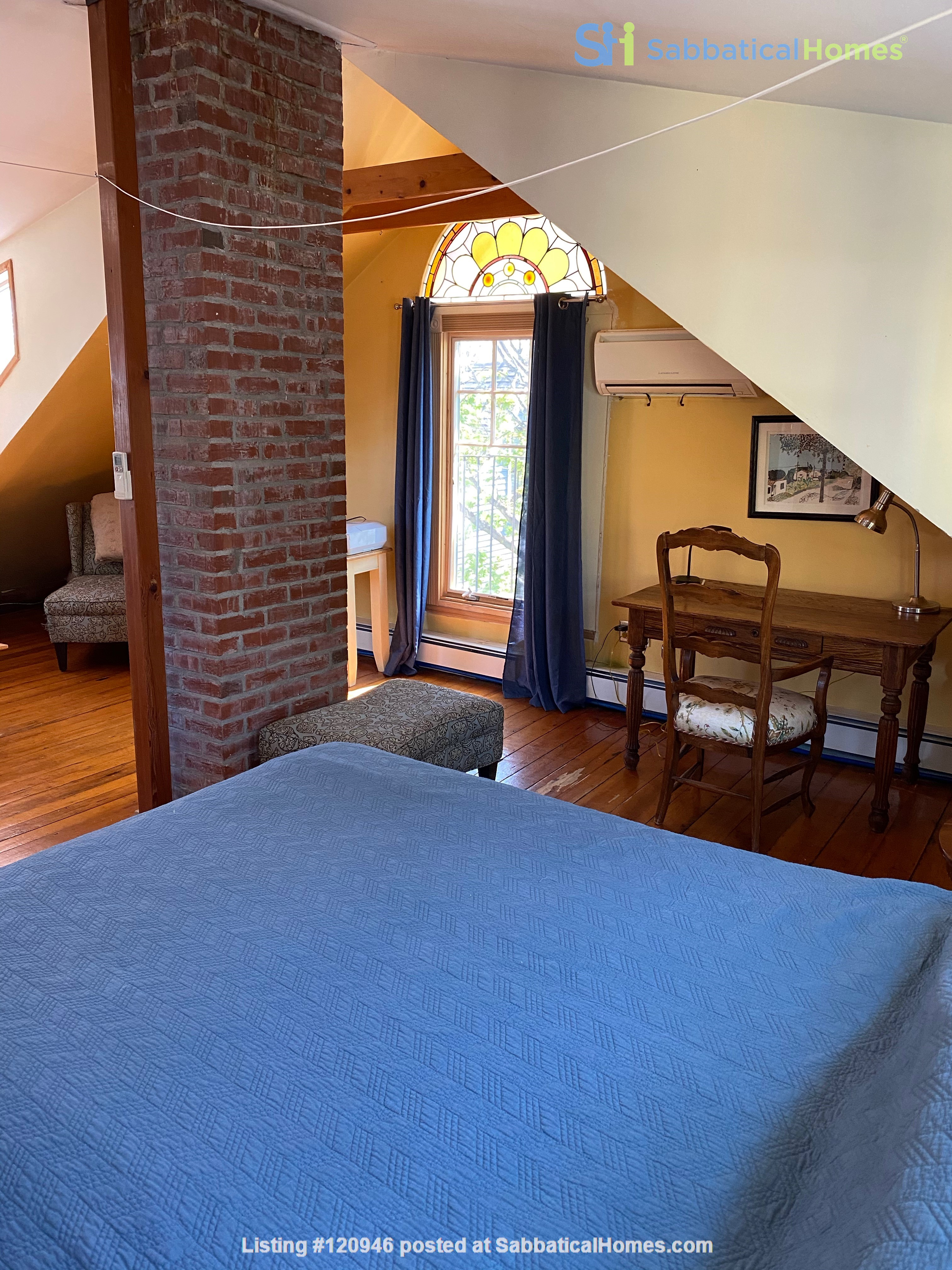 Two bedroom duplex, Harvard, Charles River. Shared private Garden Home Rental in Cambridge, Massachusetts, United States 2