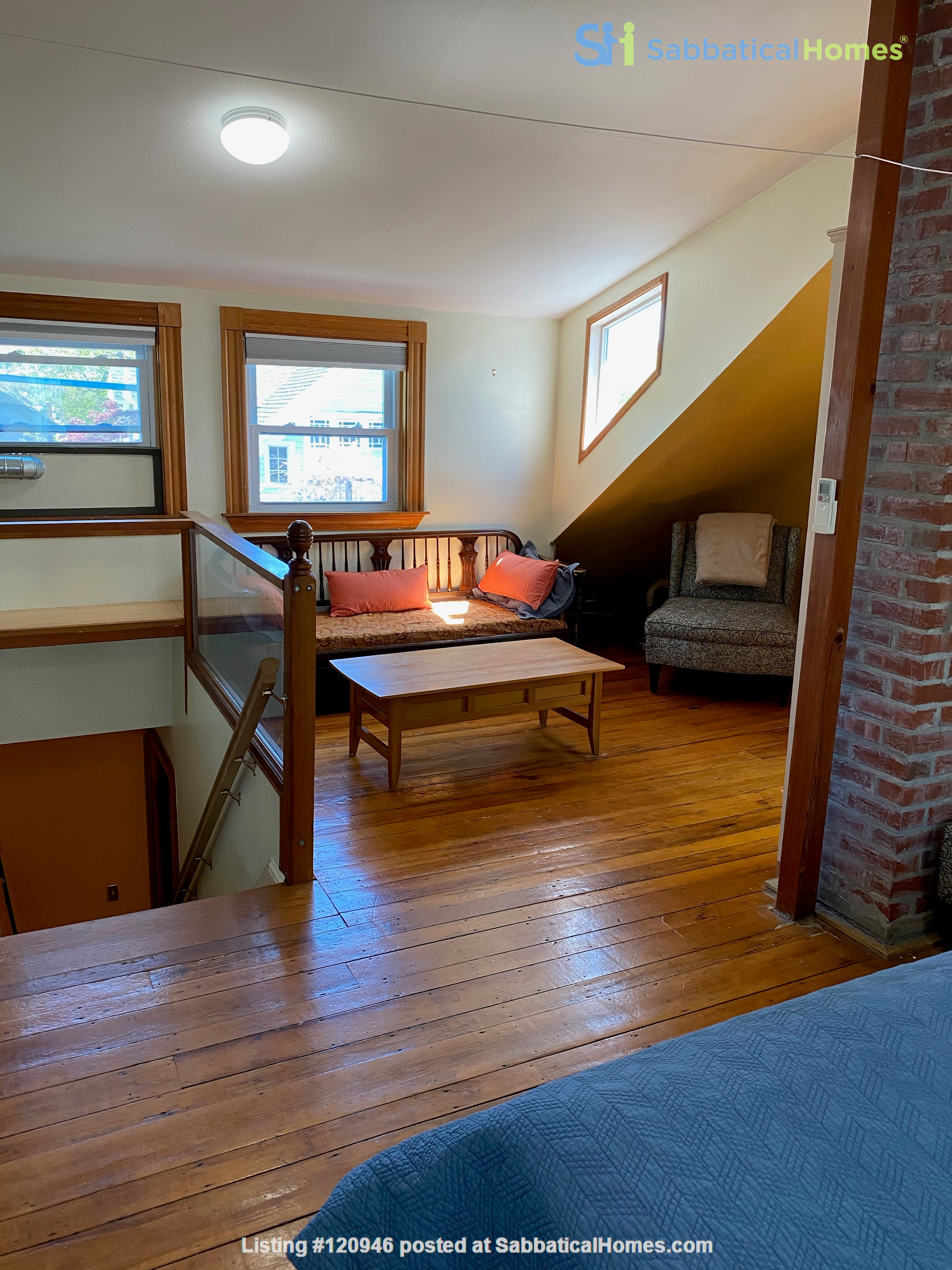 Two bedroom duplex, Harvard, Charles River. Shared private Garden Home Rental in Cambridge, Massachusetts, United States 7