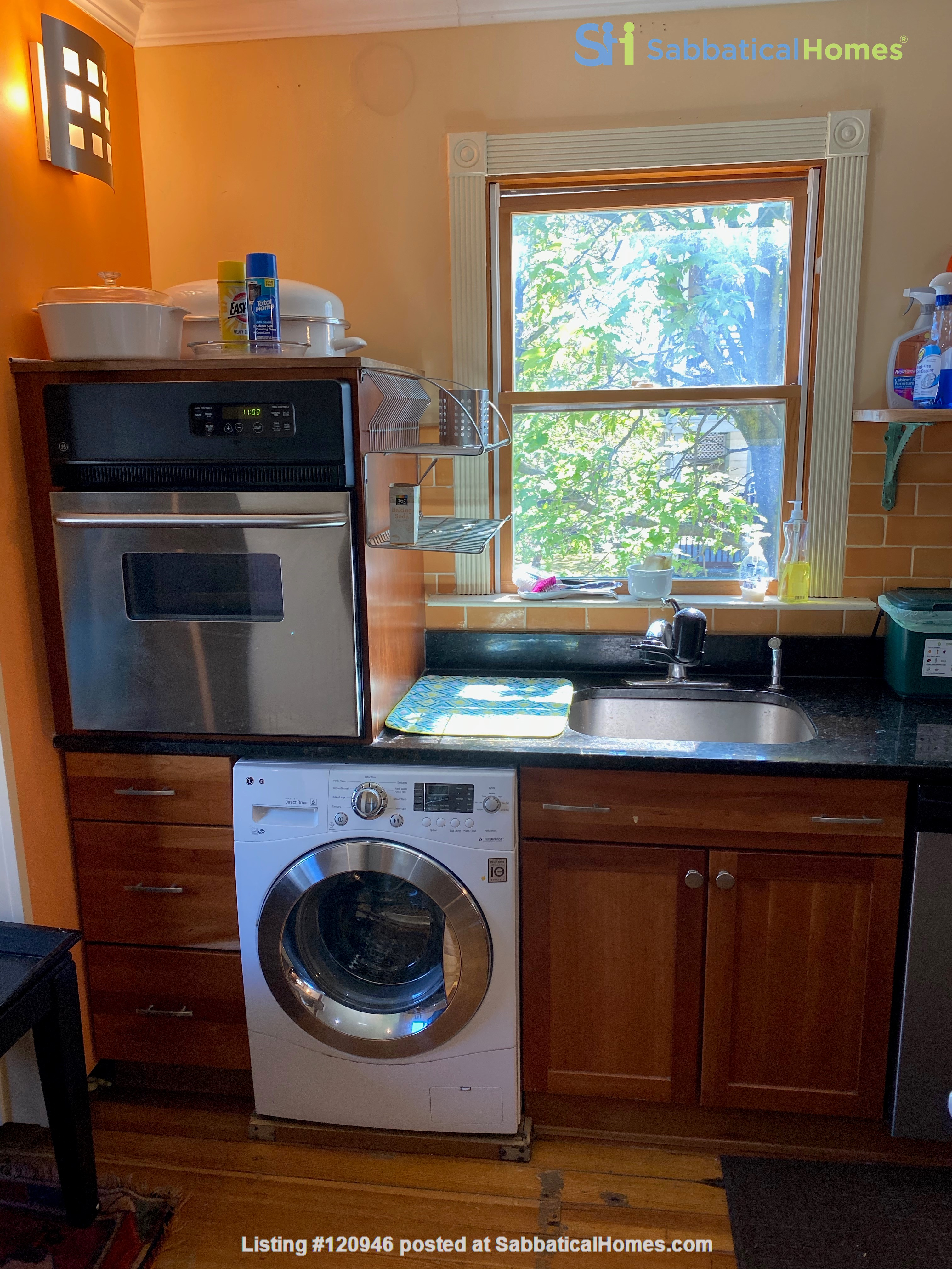 Two bedroom duplex, Harvard, Charles River. Shared private Garden Home Rental in Cambridge, Massachusetts, United States 9
