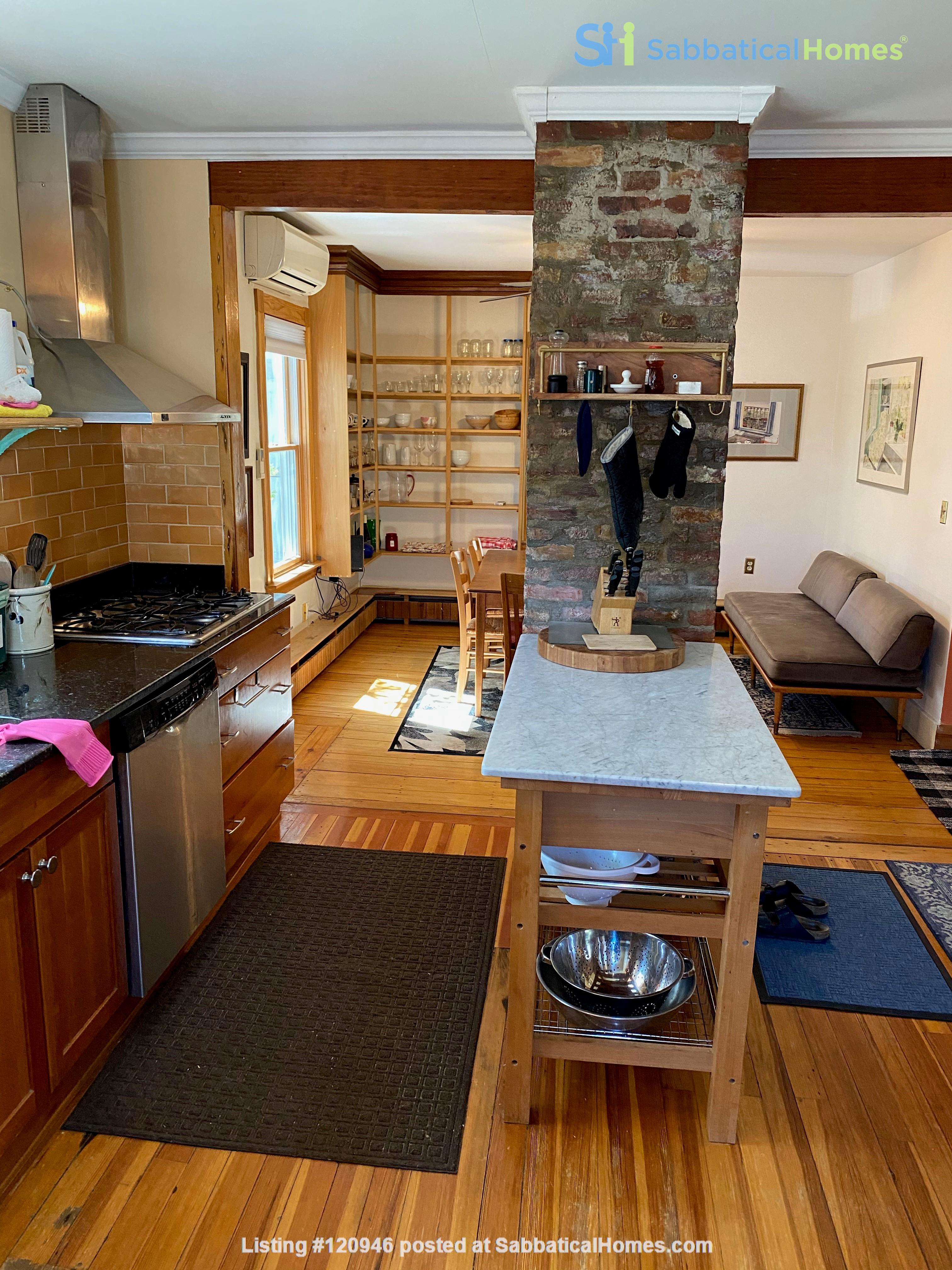 Two bedroom duplex, Harvard, Charles River. Shared private Garden Home Rental in Cambridge, Massachusetts, United States 0