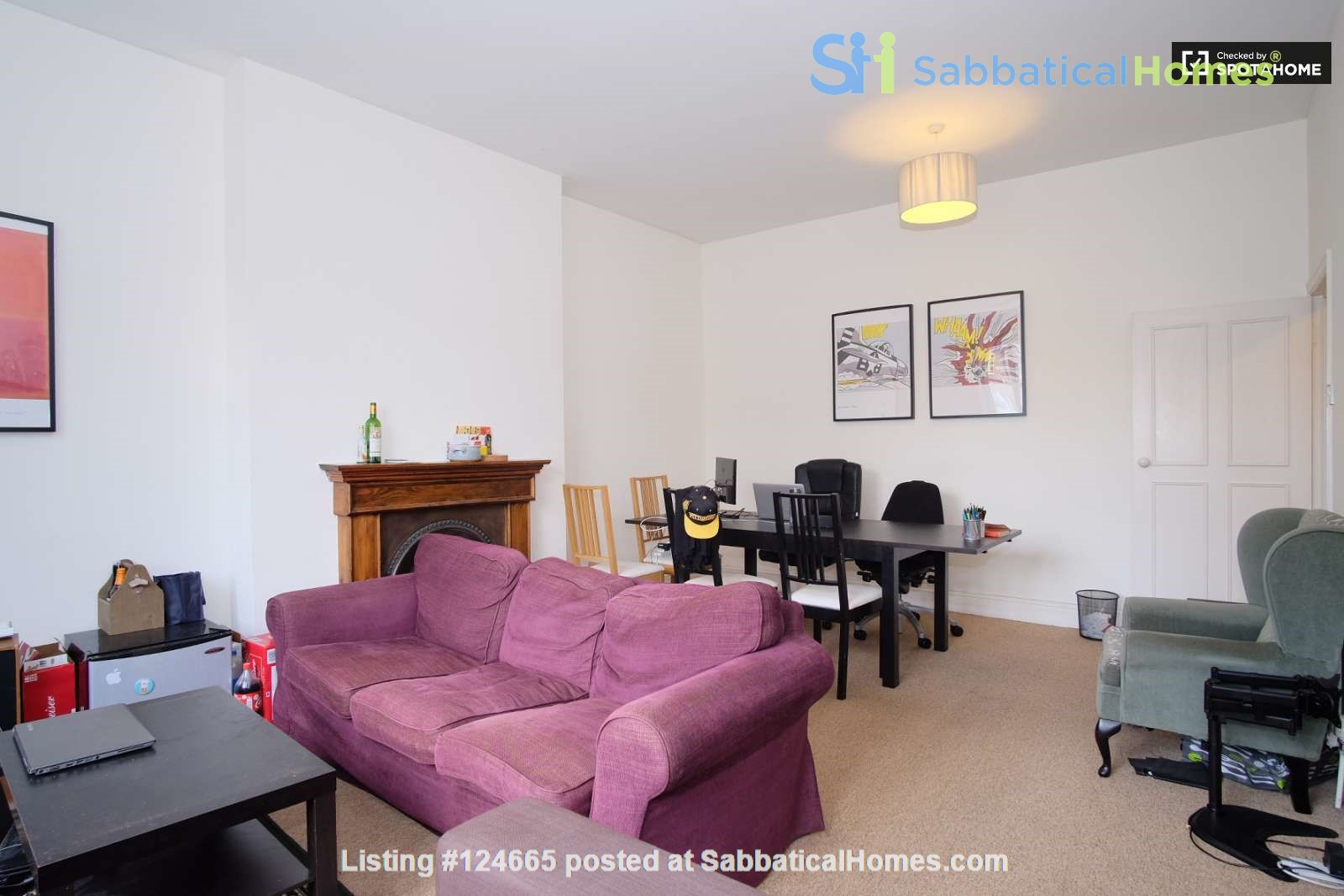 Belsize Park London outstanding  3-bed flat for Long Let Home Rental in Greater London, England, United Kingdom 3
