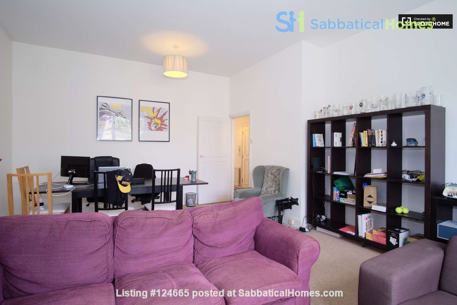 Belsize Park London outstanding  3-bed flat for Long Let Home Rental in Greater London, England, United Kingdom 4