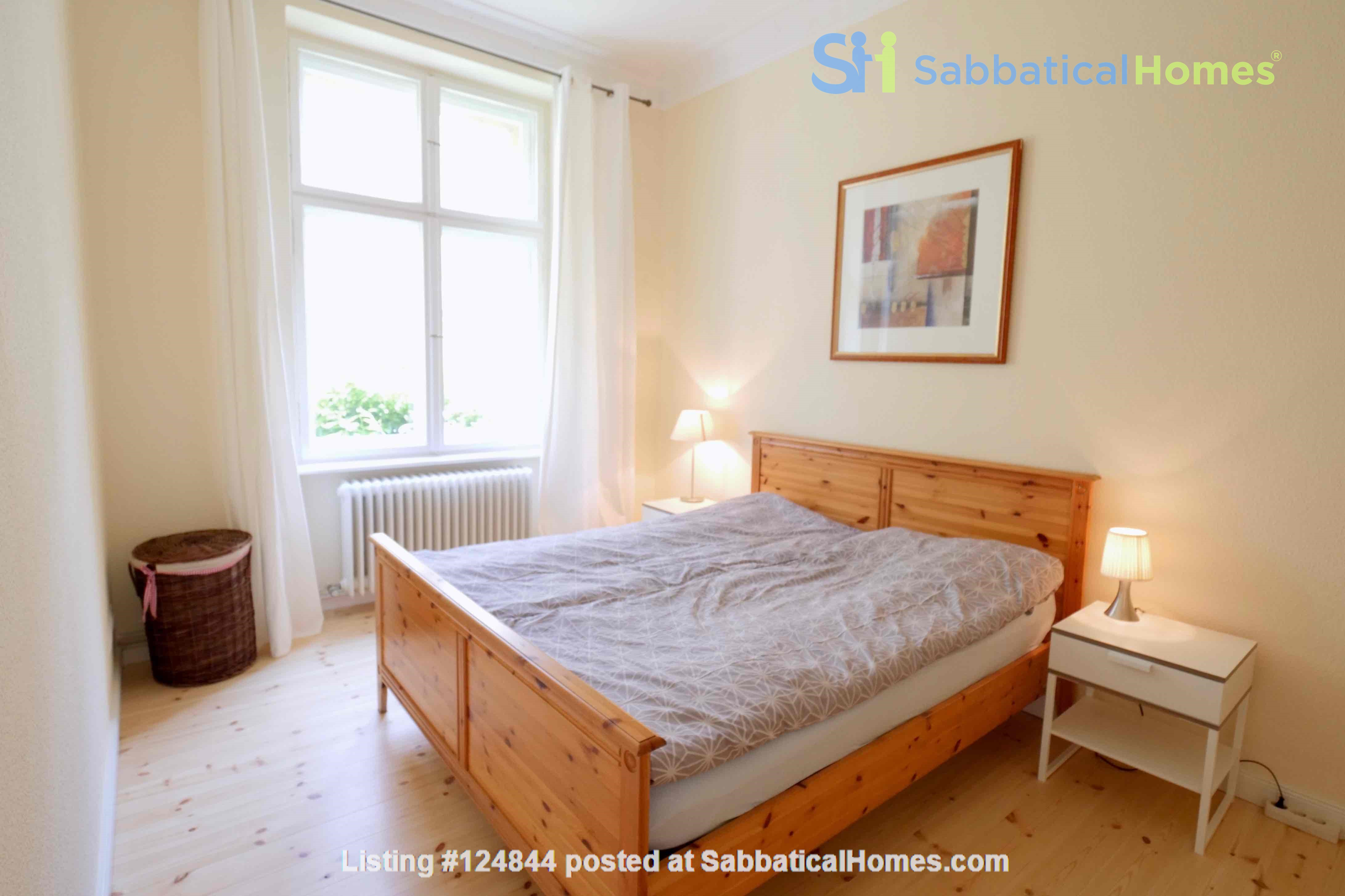 Charming 2-room apartment with balcony and fireplace Home Rental in Berlin, Berlin, Germany 4