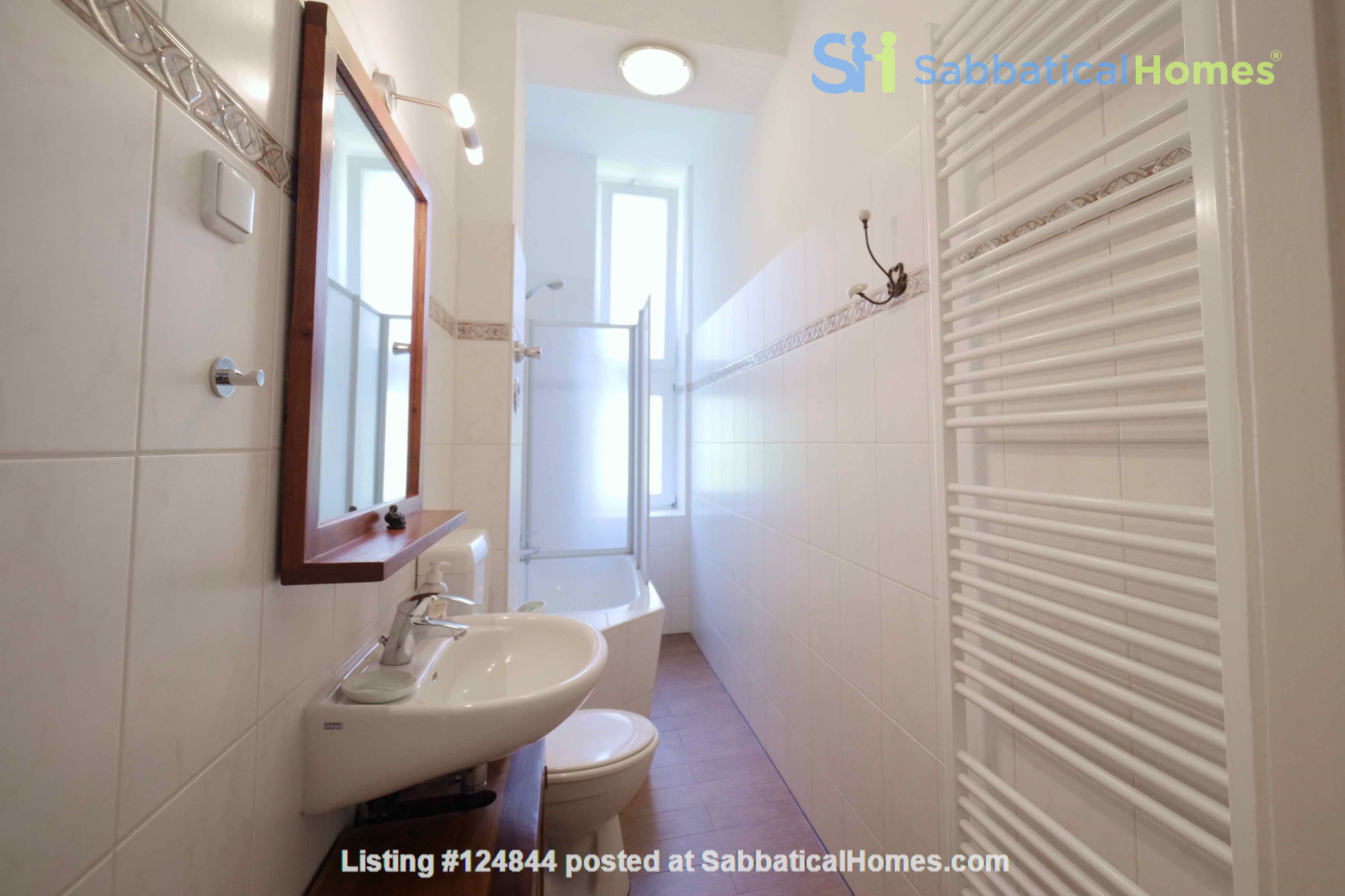 Charming 2-room apartment with balcony and fireplace Home Rental in Berlin, Berlin, Germany 5