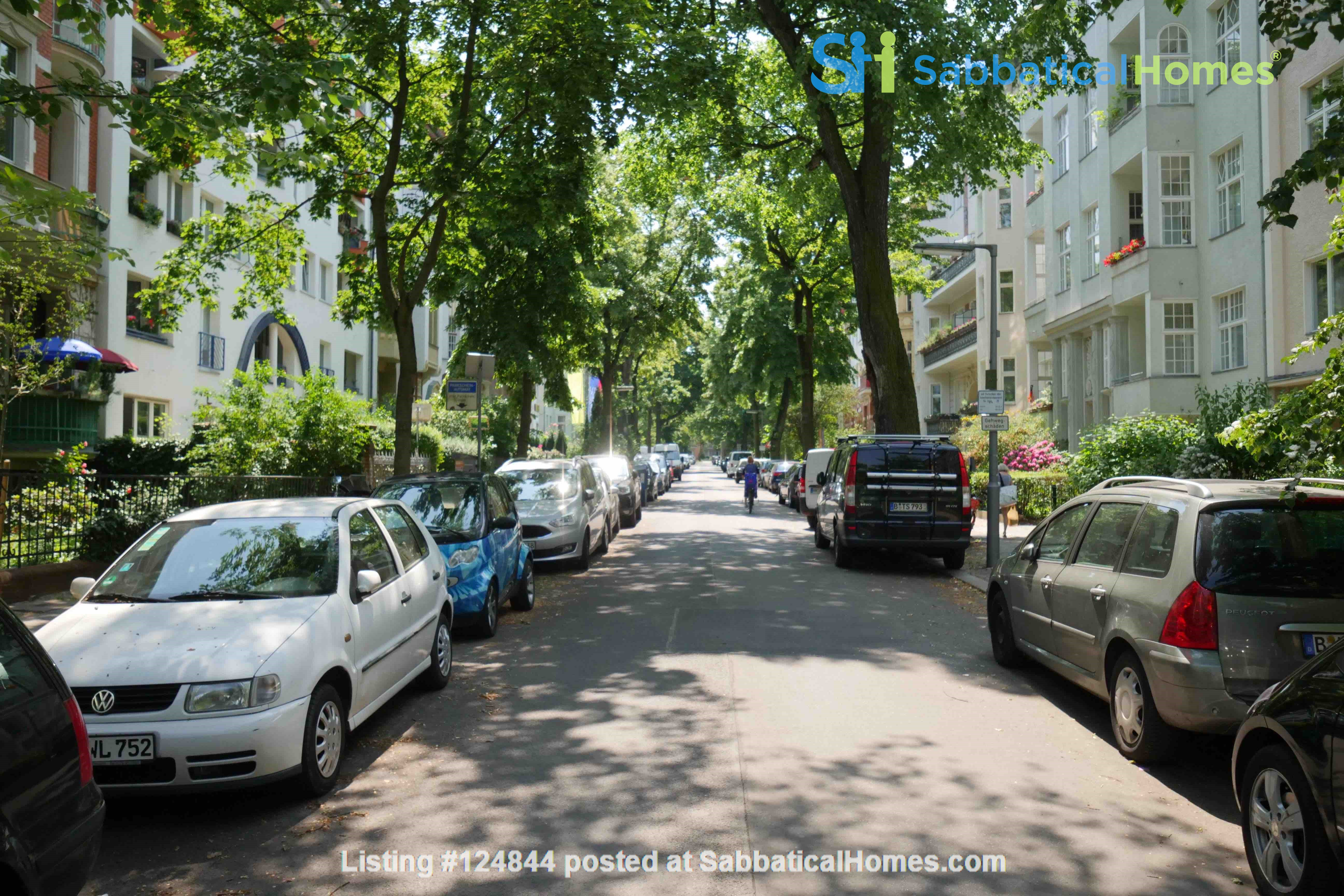 Charming 2-room apartment with balcony and fireplace Home Rental in Berlin, Berlin, Germany 7