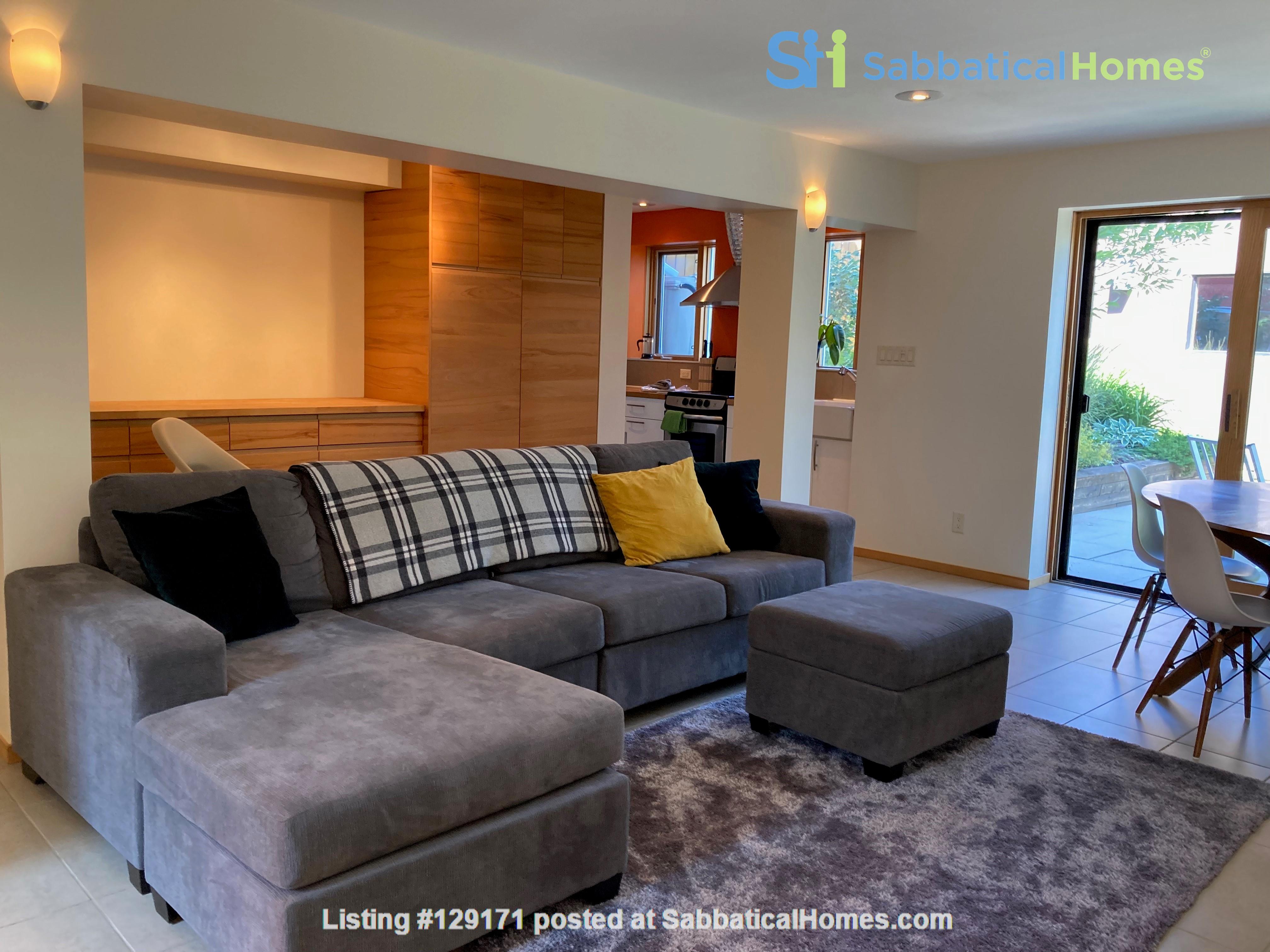 Garden Suite in Architectural Gem in Old Strathcona Home Rental in Edmonton 1