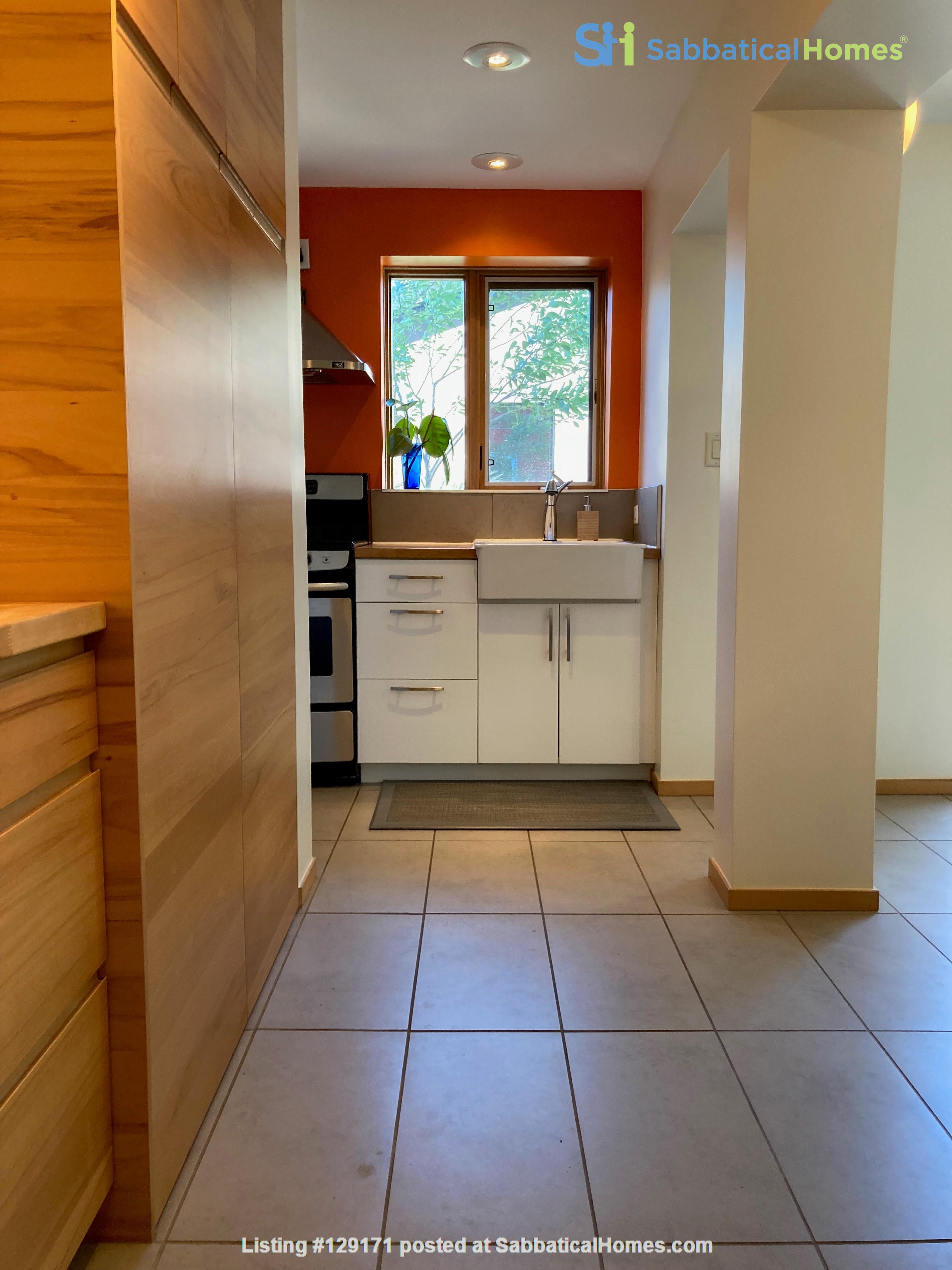 Garden Suite in Architectural Gem in Old Strathcona Home Rental in Edmonton 0