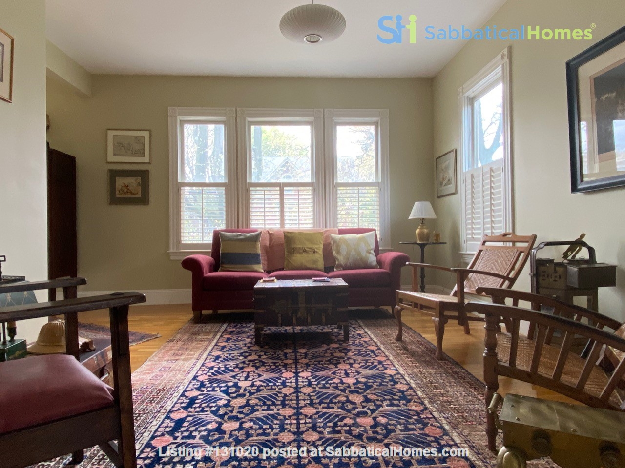 Stylish 3BR (2000sq ft) sabbatical oasis in the heart of Cambridge Home Rental in Cambridge, Massachusetts, United States 2