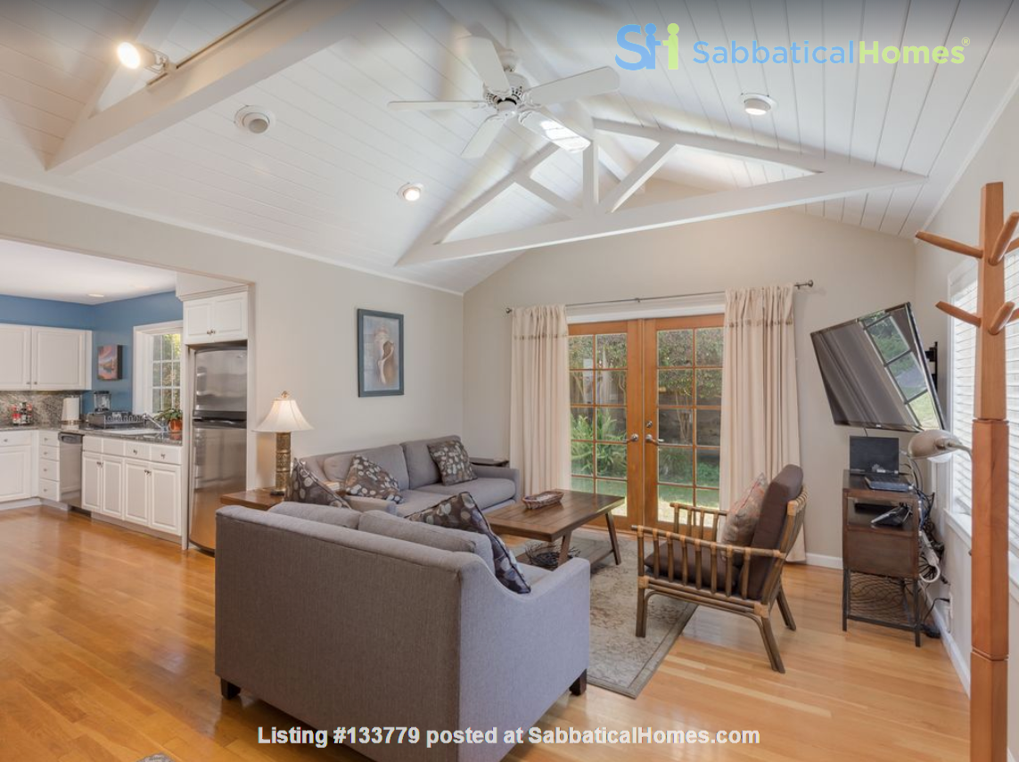 Private and quiet Pleasure Point Oasis - a home away from home Home Rental in Santa Cruz, California, United States 1