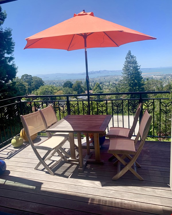 North Berkeley Hills House Near Campus with Panoramic Views Home Rental in Berkeley 3 - thumbnail