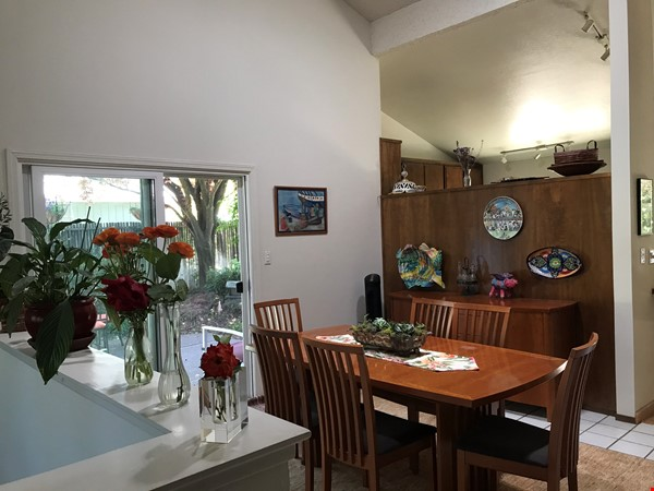 Unique 1 Br/2 Ba plus Den/Guest Rm With Wrap Around Yard - Fully Furnished Home Rental in Davis 2 - thumbnail