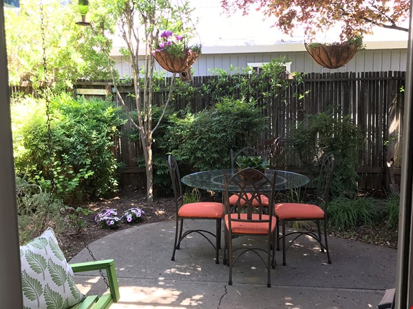Unique 1 Br/2 Ba plus Den/Guest Rm With Wrap Around Yard - Fully Furnished Home Rental in Davis 7 - thumbnail