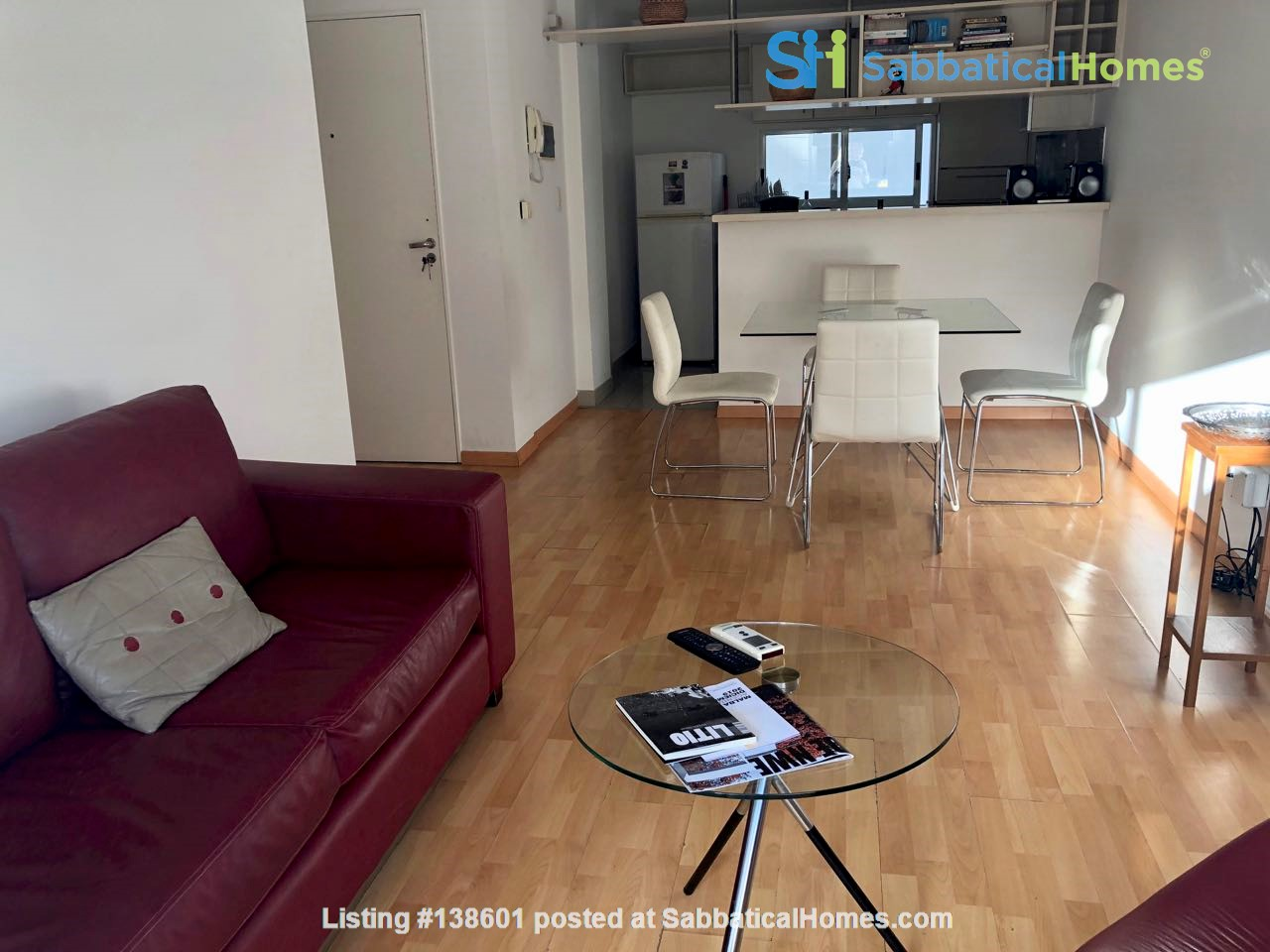 Luminous two bedroom apartment with  two bathrooms and two balconies Home Rental in Comuna 14, Buenos Aires, Argentina 0