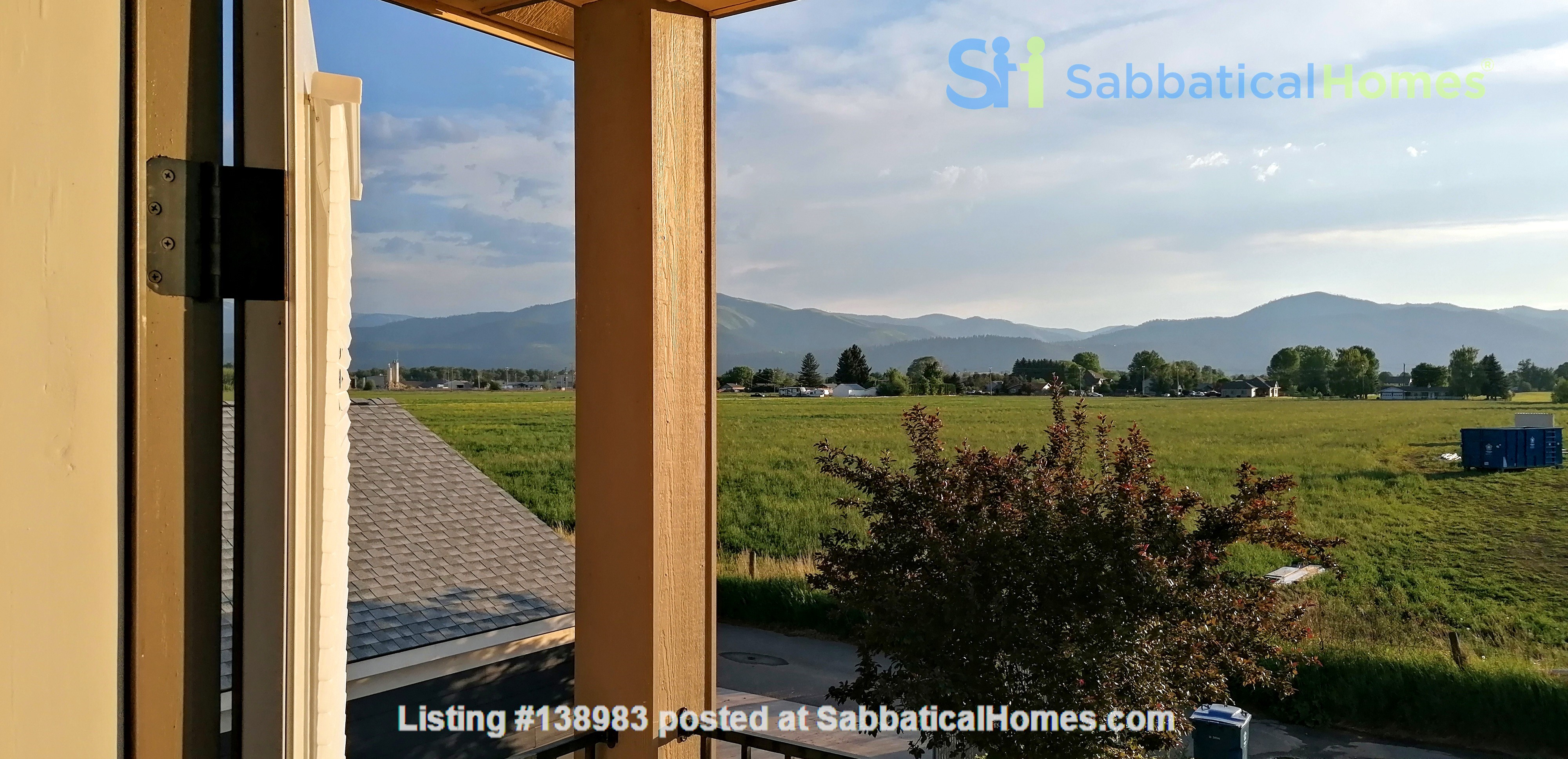 Spacious one bedroom/studio  apartment in Missoula, MT Home Rental in Missoula, Montana, United States 1