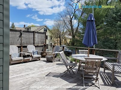 Peace & Quiet  on Cambridge/Somerville line Home Rental in Somerville, Massachusetts, United States 3
