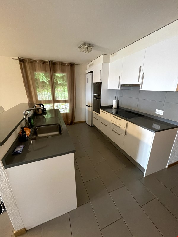 Furnished upscale flat for rent with 3 bedrooms and amazing view near Vevey Home Rental in Chardonne 4 - thumbnail