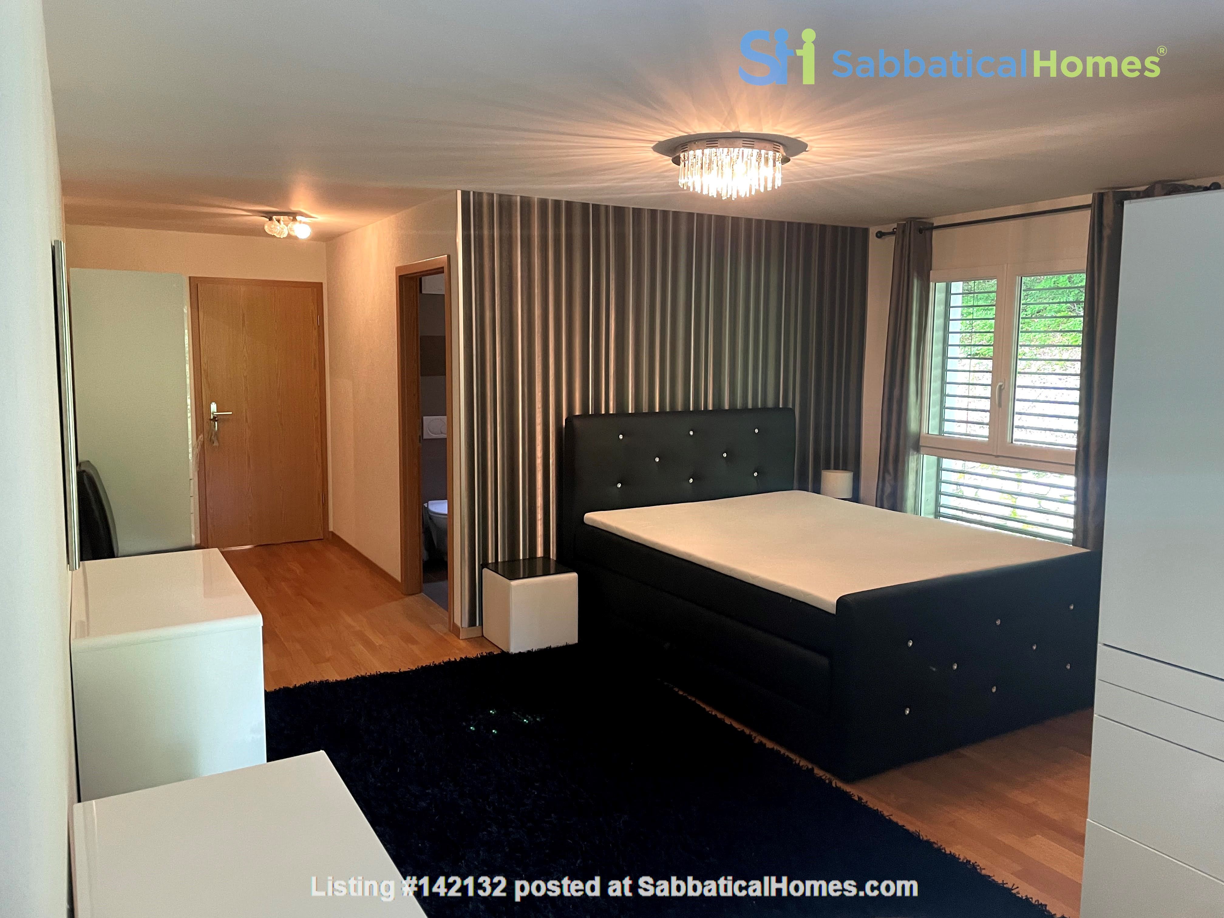 Furnished upscale flat for rent with 3 bedrooms and amazing view near Vevey Home Rental in Chardonne, Vaud, Switzerland 2