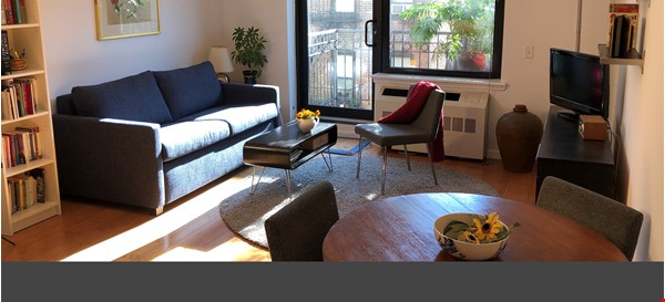 Bright, quiet 1-bedroom with washer/dryer, balcony at Columbia/CCNY Home Rental in New York 0 - thumbnail