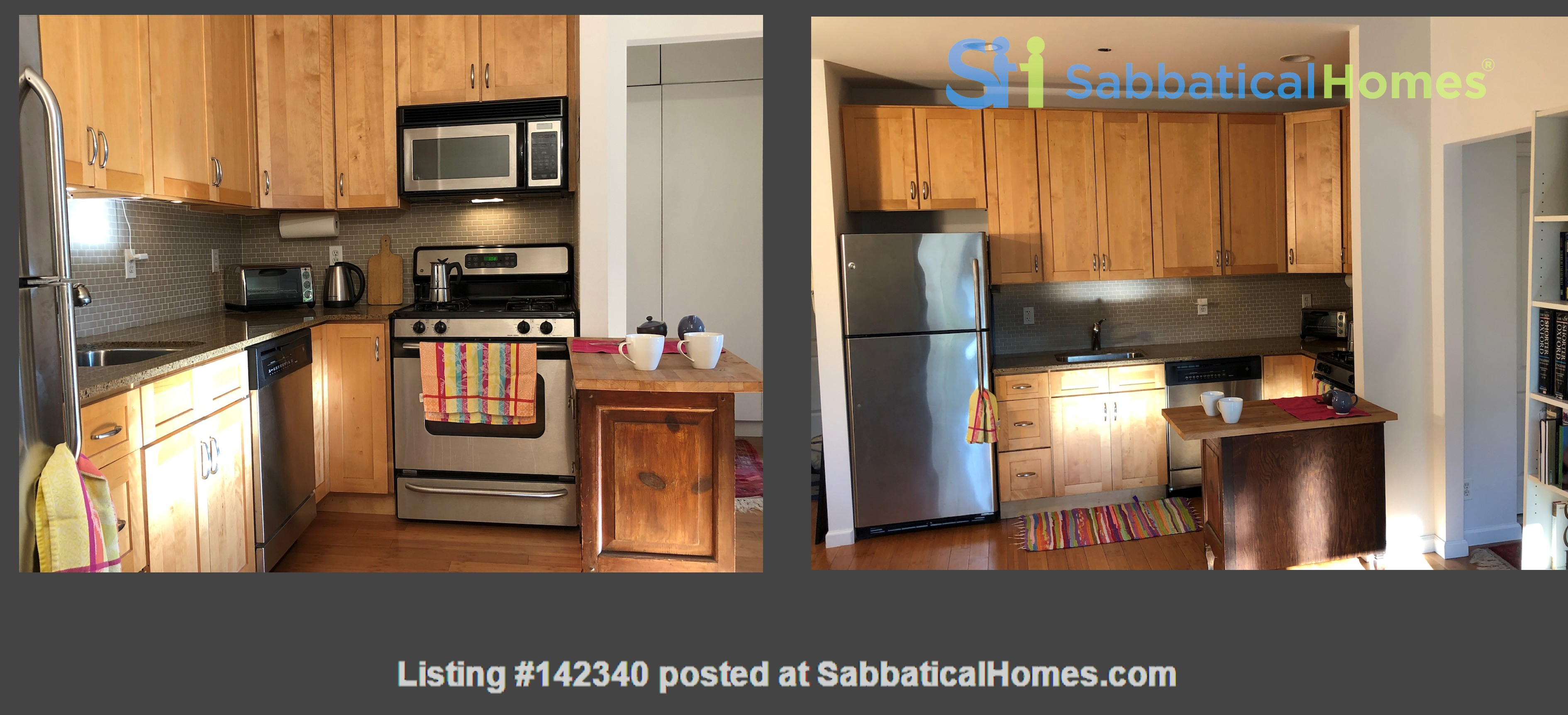 Bright, quiet 1-bedroom with washer/dryer, balcony at Columbia/CCNY Home Rental in New York 2