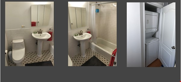 Bright, quiet 1-bedroom with washer/dryer, balcony at Columbia/CCNY Home Rental in New York 3 - thumbnail