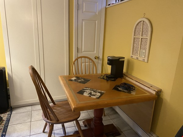 Furnished private garden level space within walking distance to Harvard Home Rental in Cambridge 5 - thumbnail
