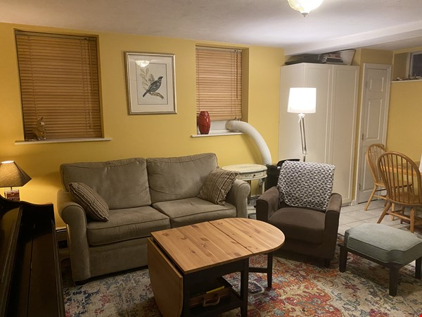 Furnished private garden level space within walking distance to Harvard Home Rental in Cambridge 7 - thumbnail