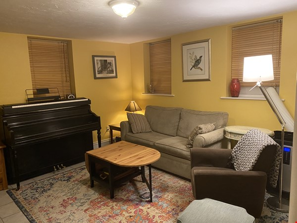 Furnished private garden level space within walking distance to Harvard Home Rental in Cambridge 0 - thumbnail