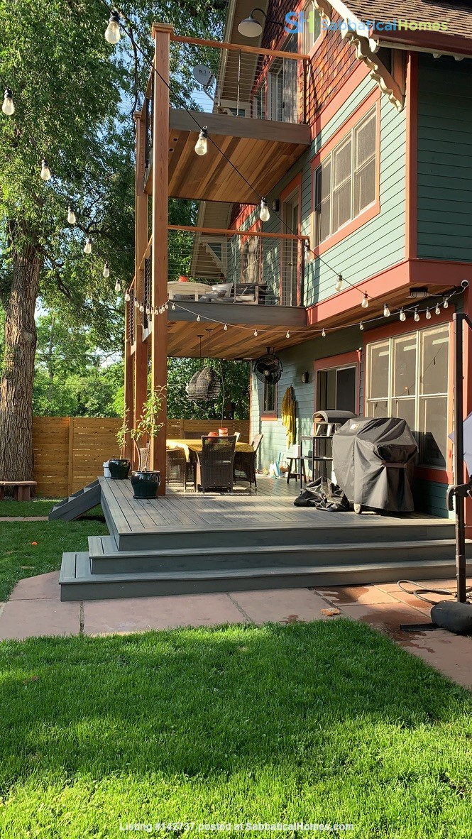 Renovated 6 Bed Home with Garden, Hot Tub, Fire Pit close Chautauqua/Pearl Home Rental in Boulder, Colorado, United States 9