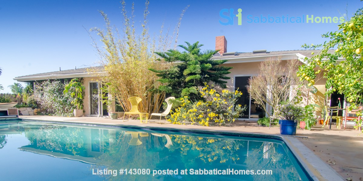 Mid-Century Modern house near Technology Hub & Universities Home Rental in Los Angeles, California, United States 1
