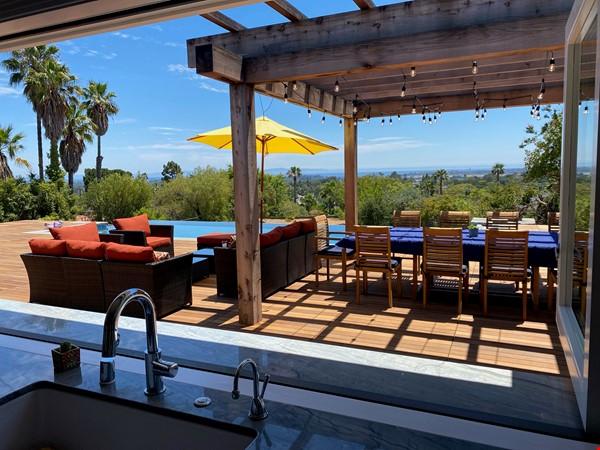 Newly renovated with infinity pool and ocean views Home Rental in Santa Barbara 0 - thumbnail