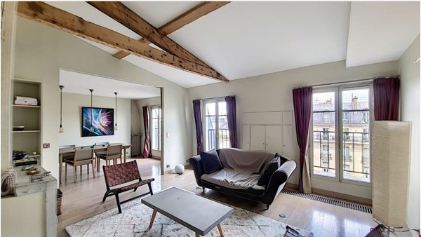 COSY FURNISHED 3 BEDROOM APARTMENT PARIS 8/17 - 111m2/1196ft2 3,800€/month Home Rental in Paris 0 - thumbnail