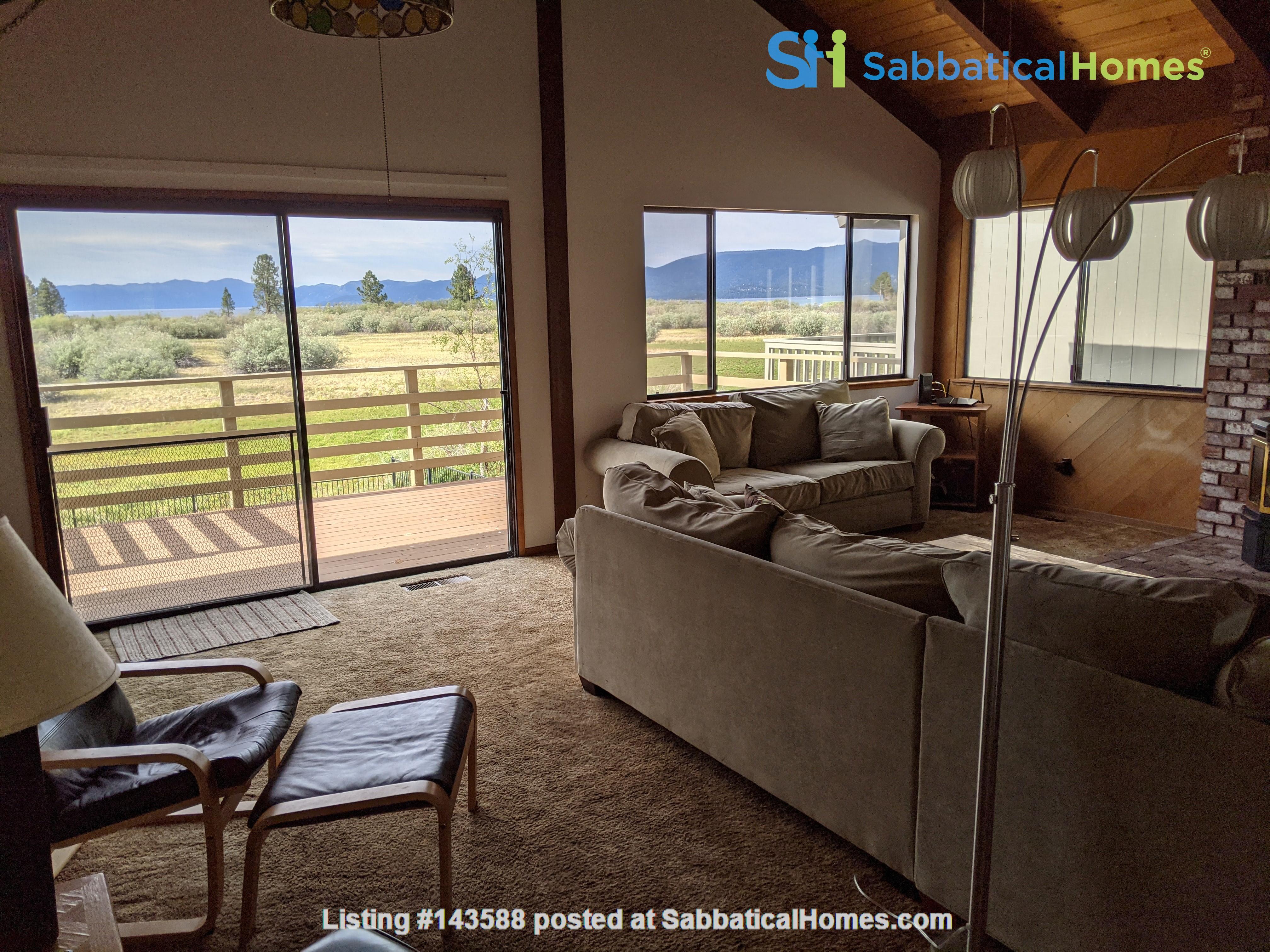 LAKE VIEWS Tahoe Keys 3br 2.5 ba. SPA. New appliances. Barton close Home Rental in South Lake Tahoe, California, United States 2