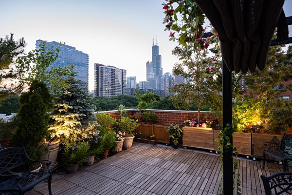 Furnished unit, top floor, gorgeous views. Near Grant Park, lake, museums. Home Rental in Chicago 4 - thumbnail