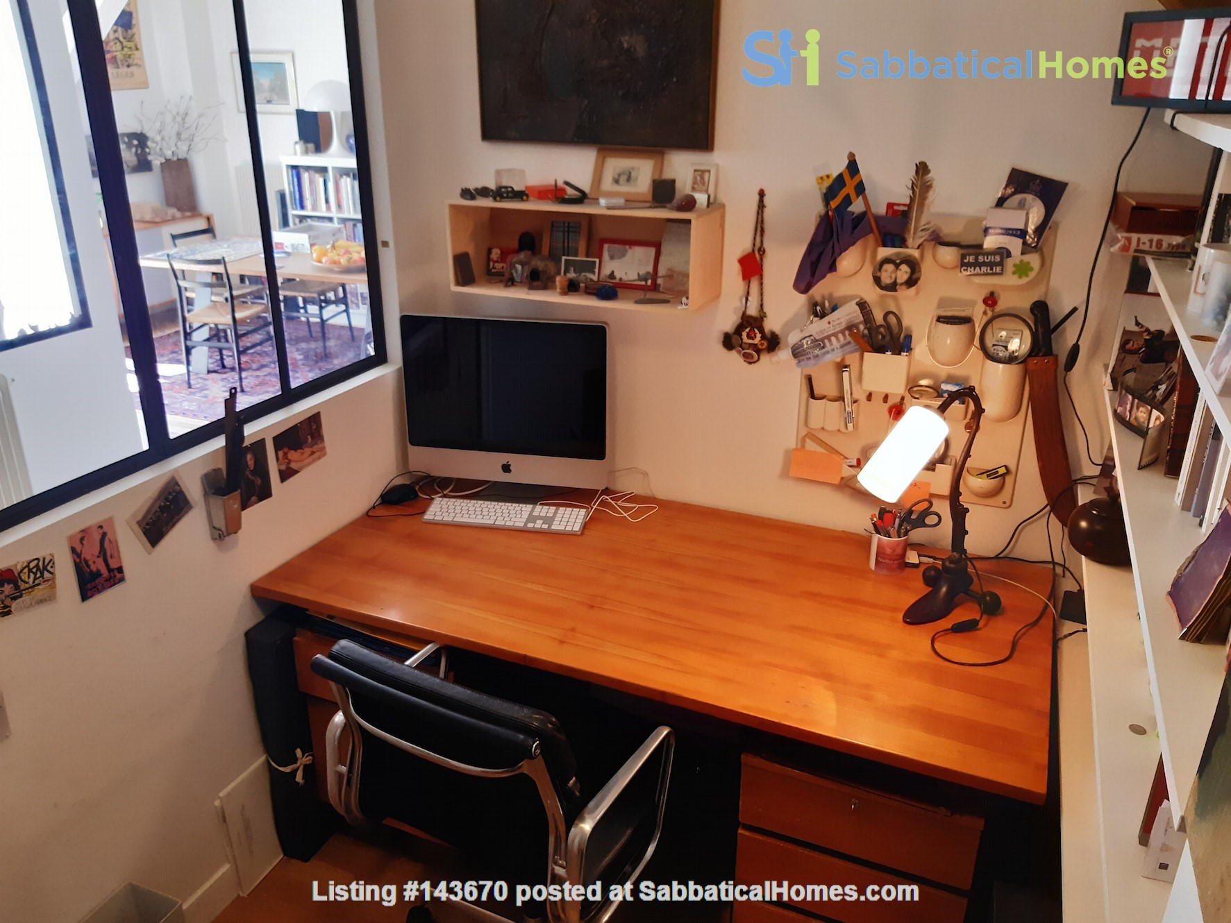 Beautiful apartment with terrace in the heart of Paris Home Rental in Paris, Île-de-France, France 7
