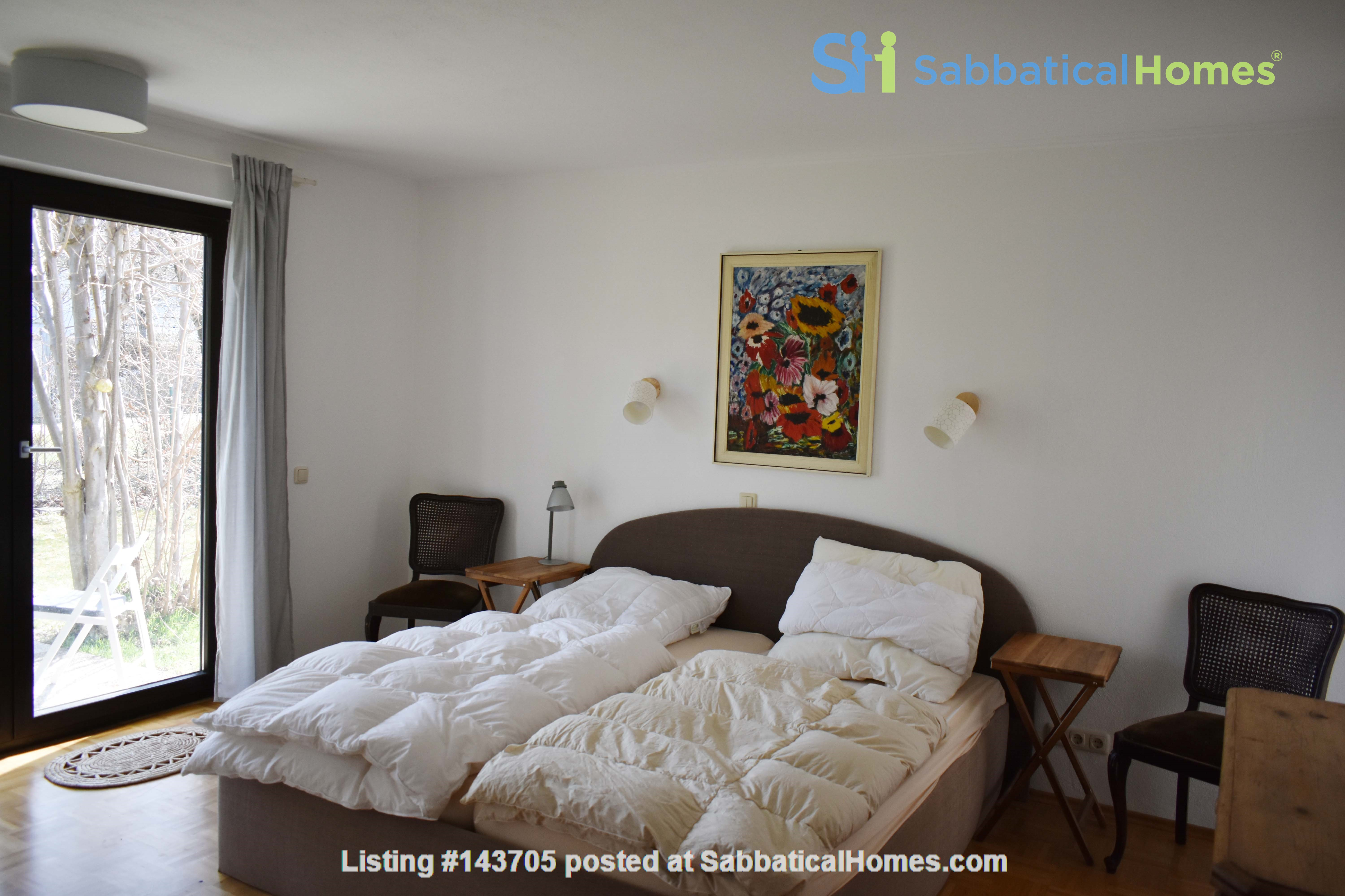 Beautiful and quiet apartment with garden Home Rental in München, Bayern, Germany 6
