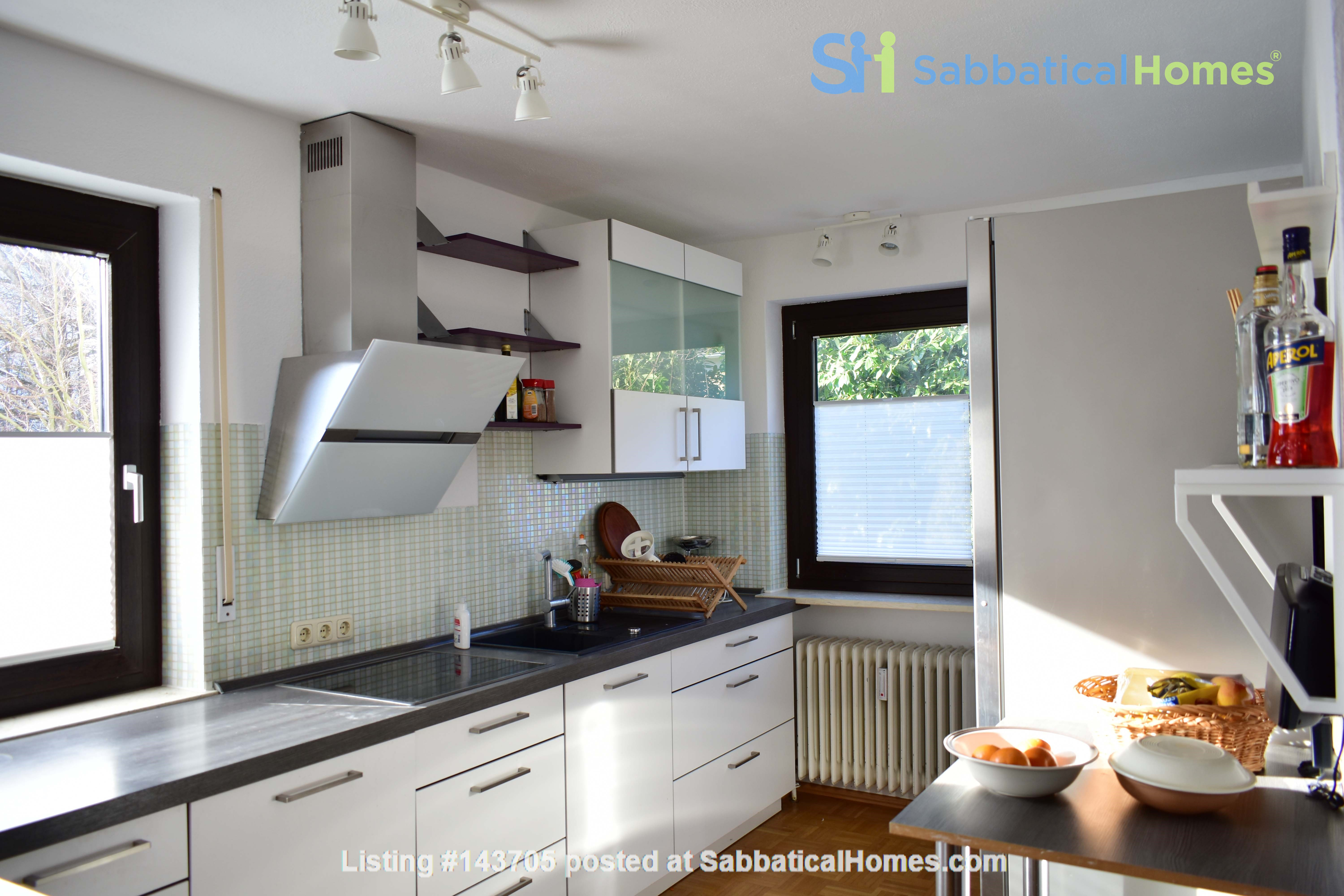 Beautiful and quiet apartment with garden Home Rental in München, Bayern, Germany 3