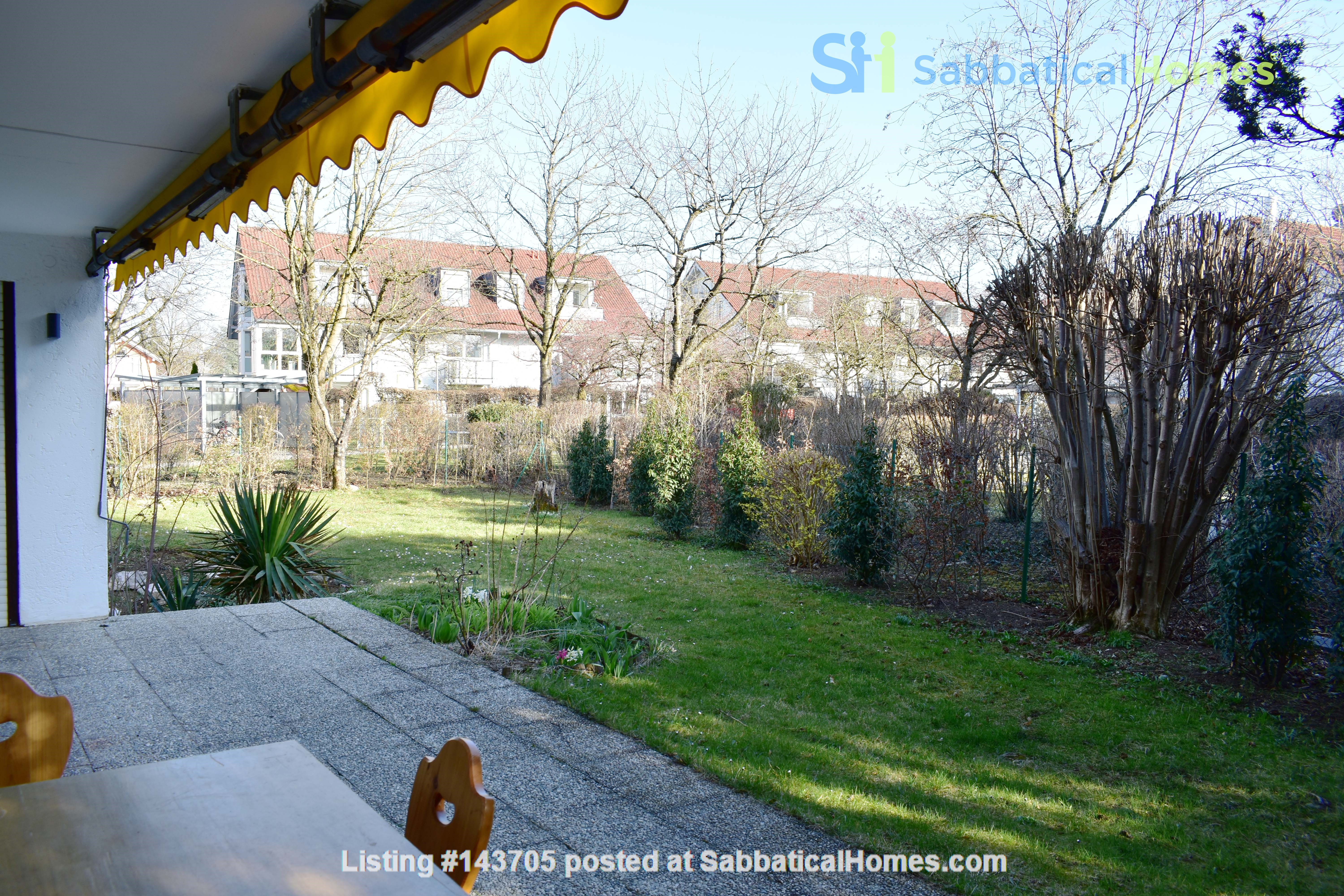 Beautiful and quiet apartment with garden Home Rental in München, Bayern, Germany 1