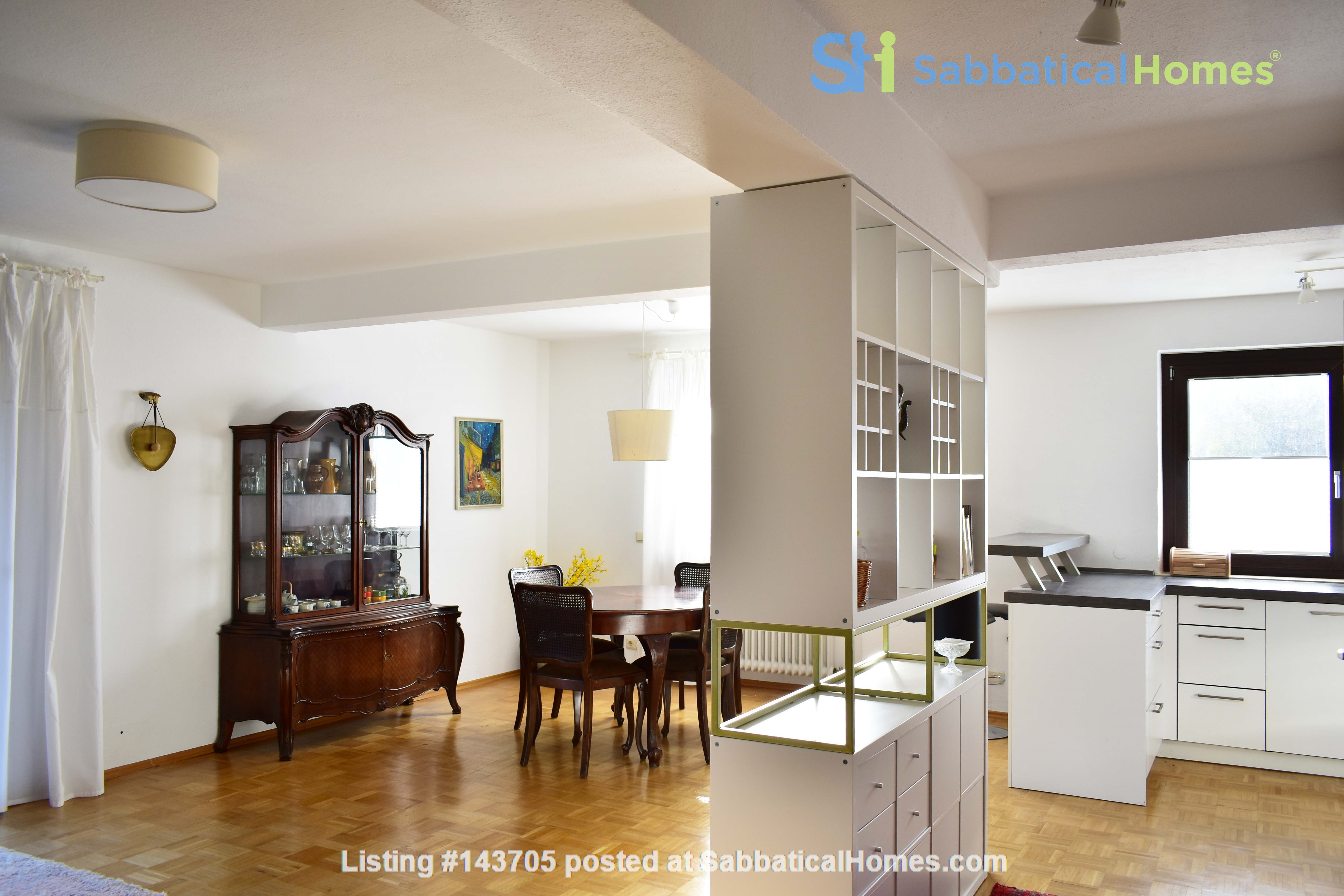 Beautiful and quiet apartment with garden Home Rental in München, Bayern, Germany 2