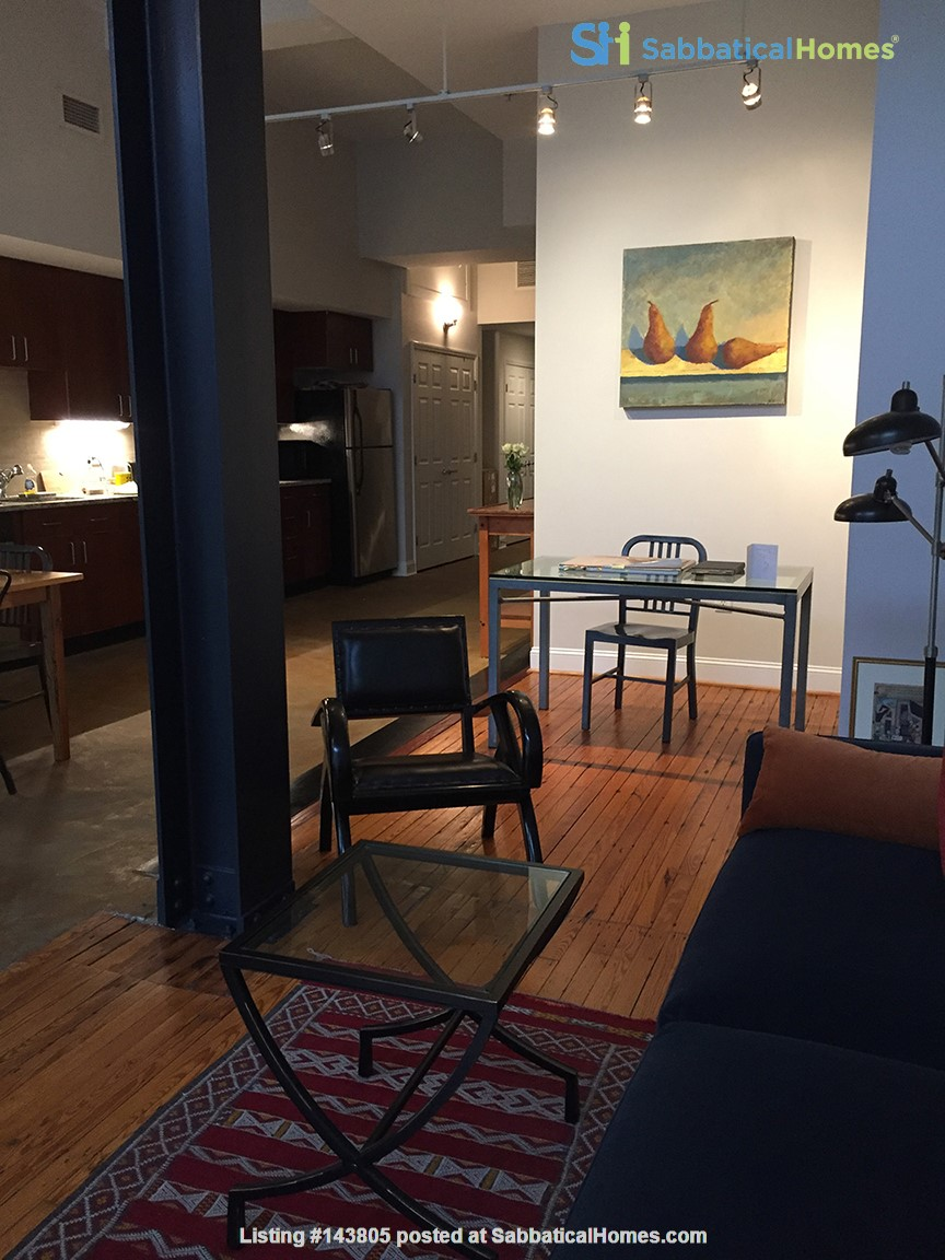 Downtown loft in historic building Home Rental in Durham, North Carolina, United States 3