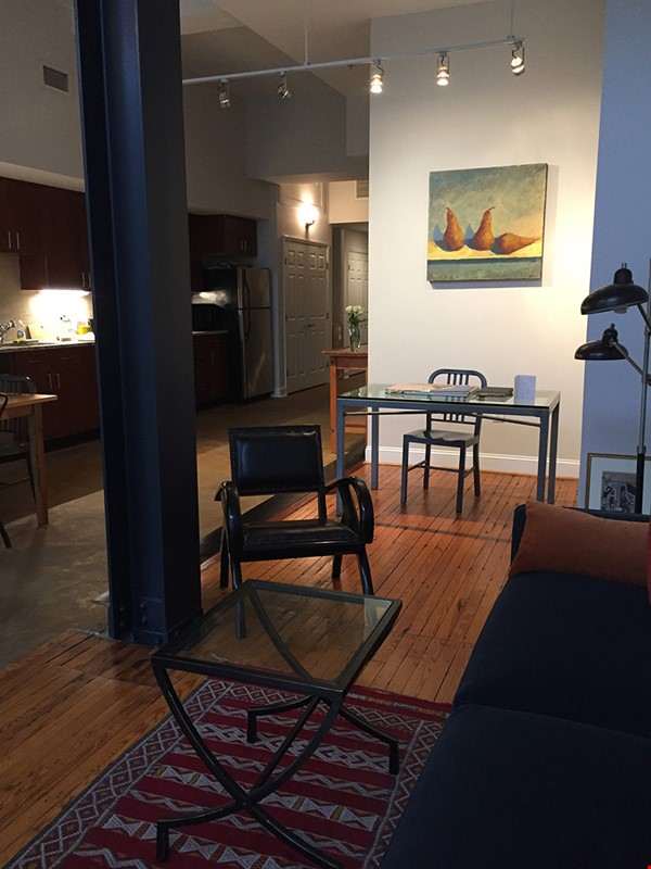 Downtown loft in historic building Home Rental in Durham 3 - thumbnail