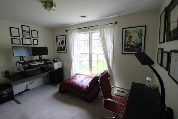 Beautiful FURNISHED large home (5 BDR, 4 BATH)  with in-home gym, playground, expansive views, spacious grounds, Close to both Cayuga Med and Cornell University Home Rental in Ithaca 5 - thumbnail