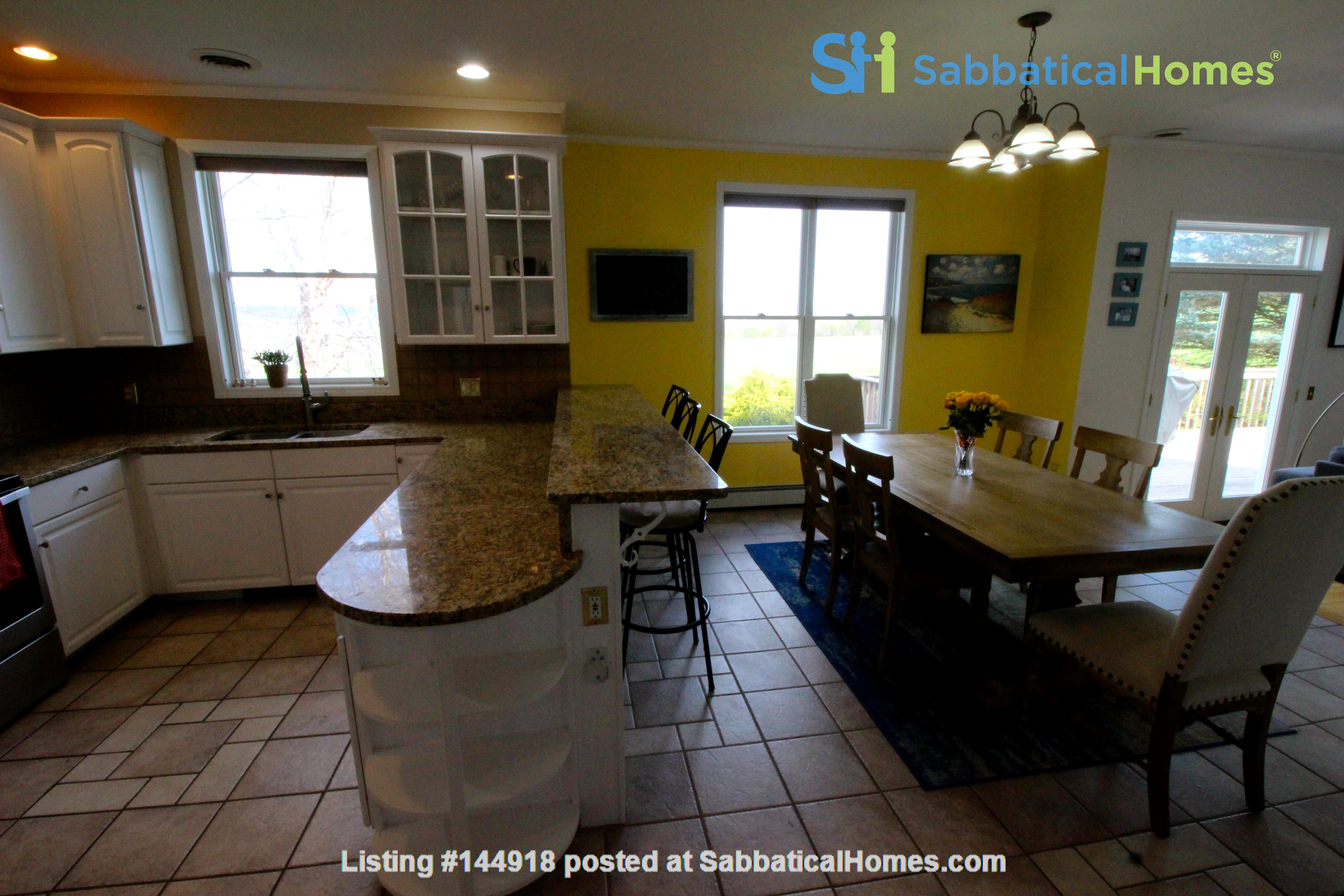 Beautiful FURNISHED large home (5 BDR, 4 BATH)  with in-home gym, playground, expansive views, spacious grounds, Close to both Cayuga Med and Cornell University Home Rental in Ithaca, New York, United States 9