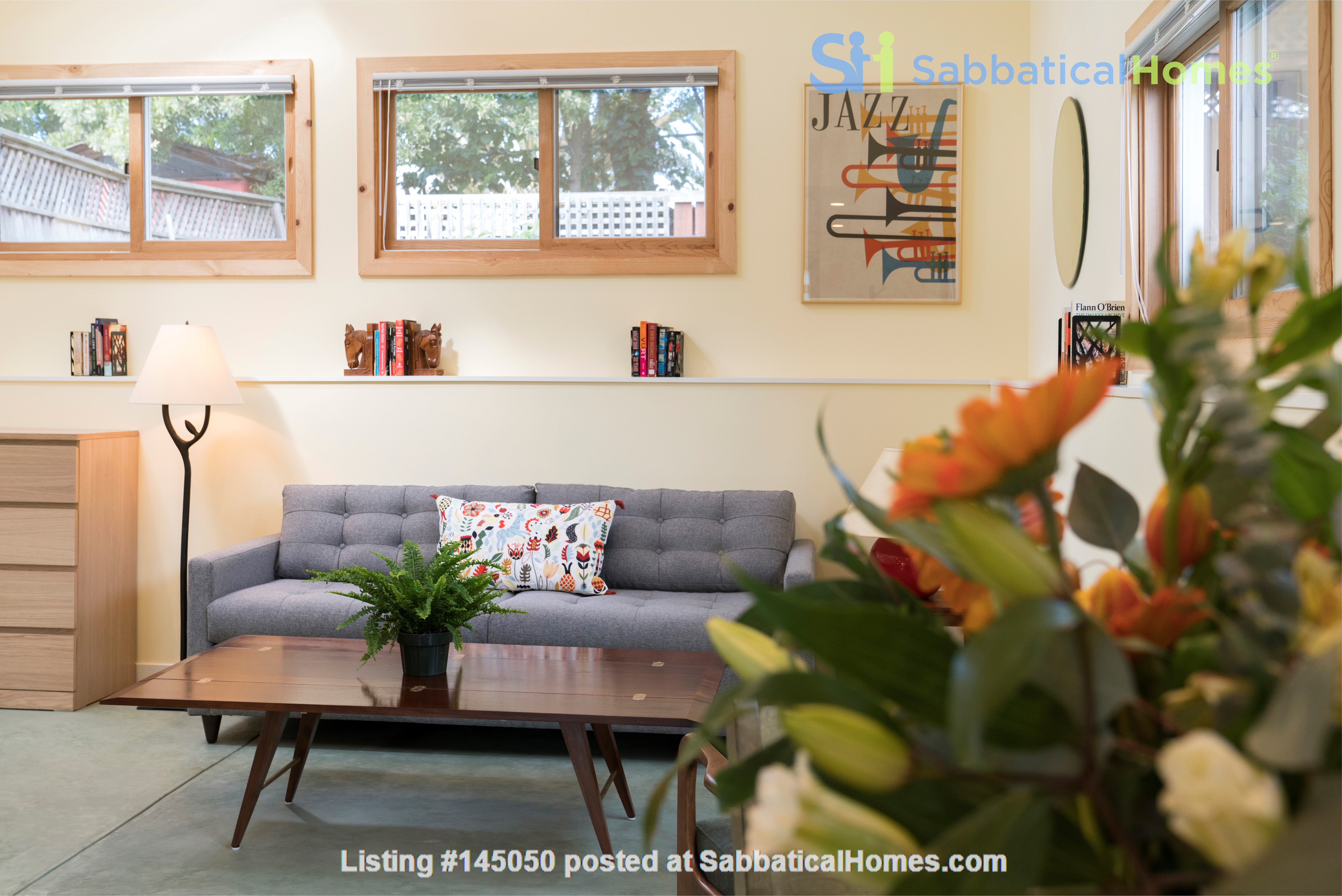 Light Filled, Fully Furnished Cottage in Great Berkeley Neighborhood Home Rental in Berkeley, California, United States 0
