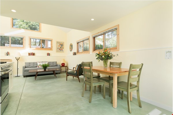 Light Filled, Fully Furnished Cottage in Great Berkeley Neighborhood Home Rental in Berkeley 1 - thumbnail