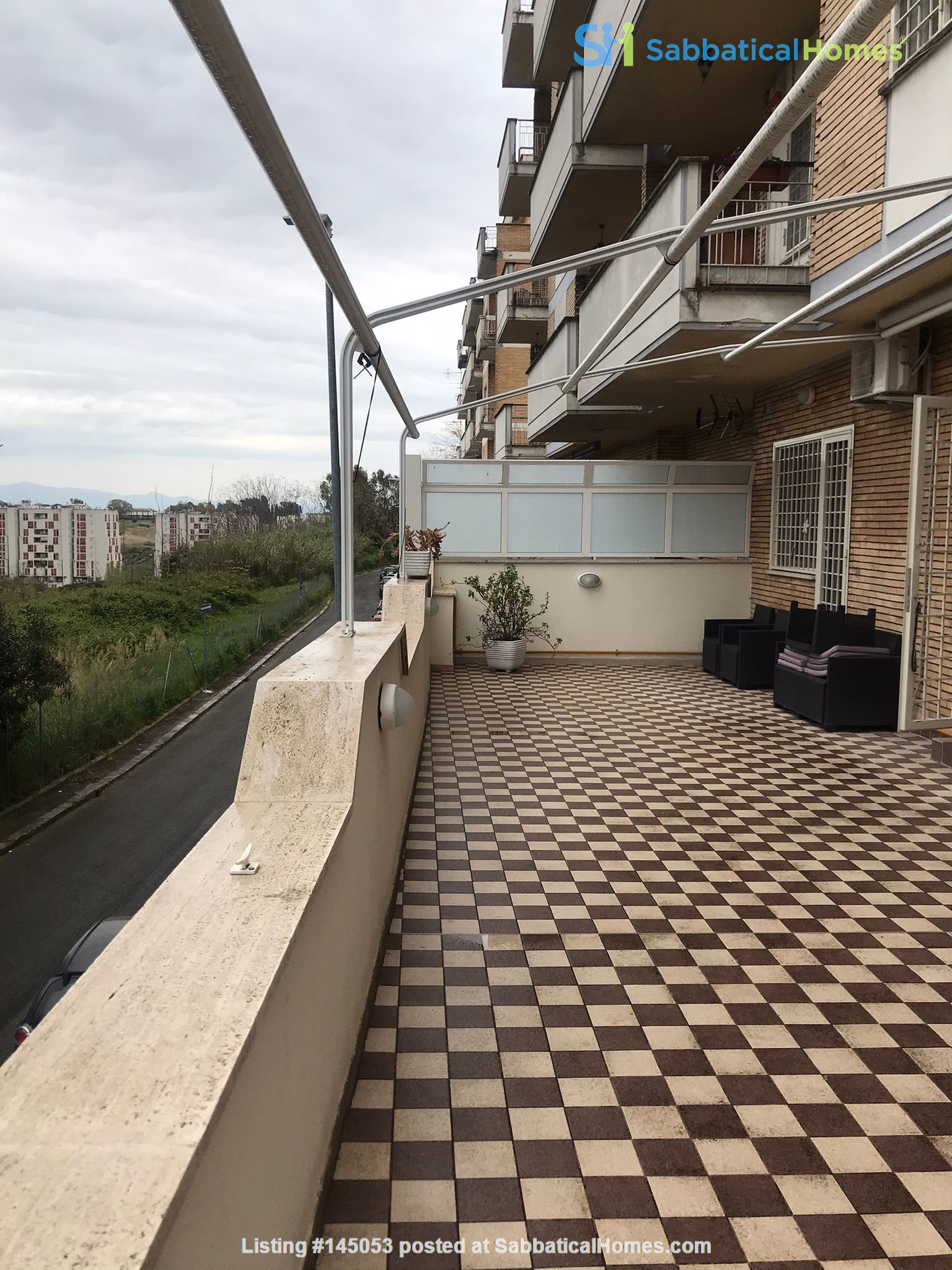 University Sacro Cuore - Brightly apartment with large terrace. Home Rental in Roma, Lazio, Italy 9