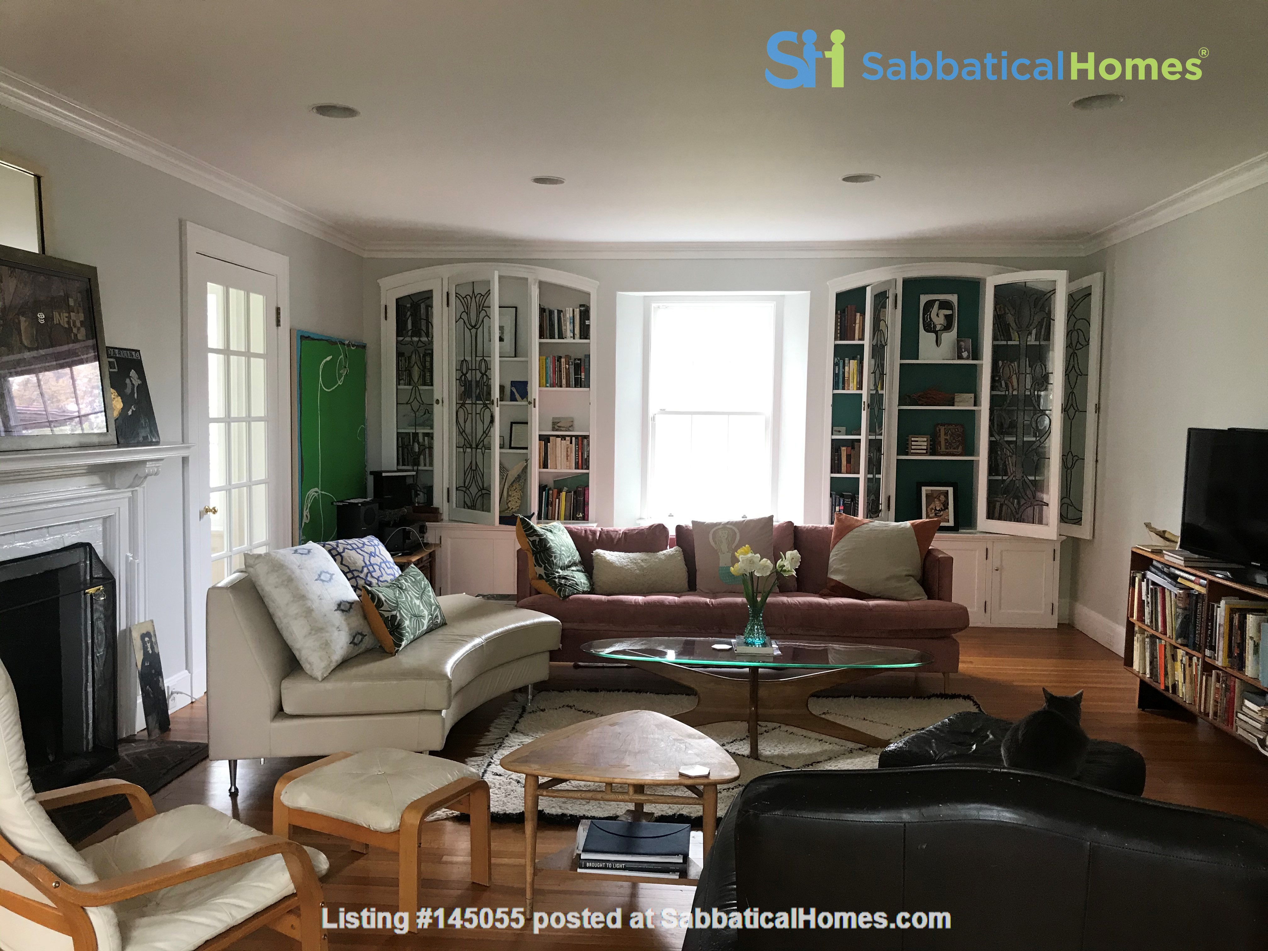 Large, gorgeous house & garden within walking distance of Brown & RISD Home Rental in Providence, Rhode Island, United States 1