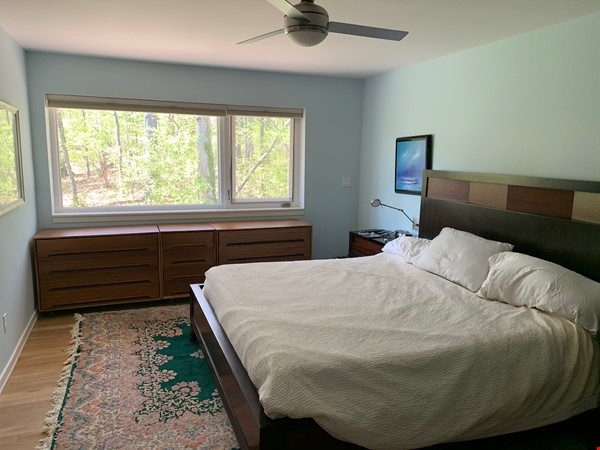Beautifully updated mid-century 3-bedroom home near University of Michigan. Home Rental in Ann Arbor 4 - thumbnail