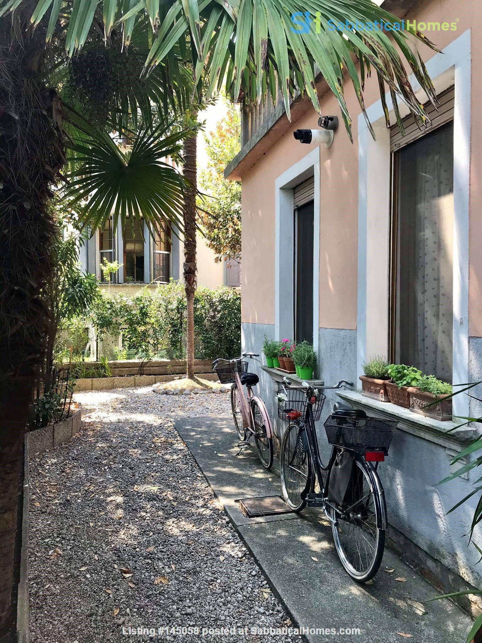 Elegant apartment with garden in Venice Home Exchange in Lido, Veneto, Italy 0